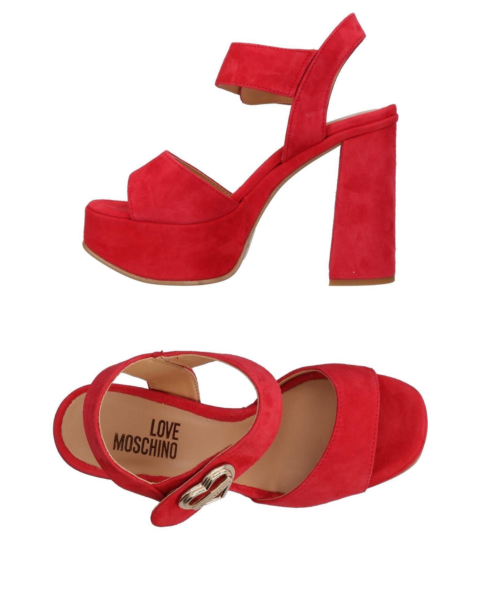 Stilvolle billige Schuhe Love Moschino Sandalen Damen  11425851EE