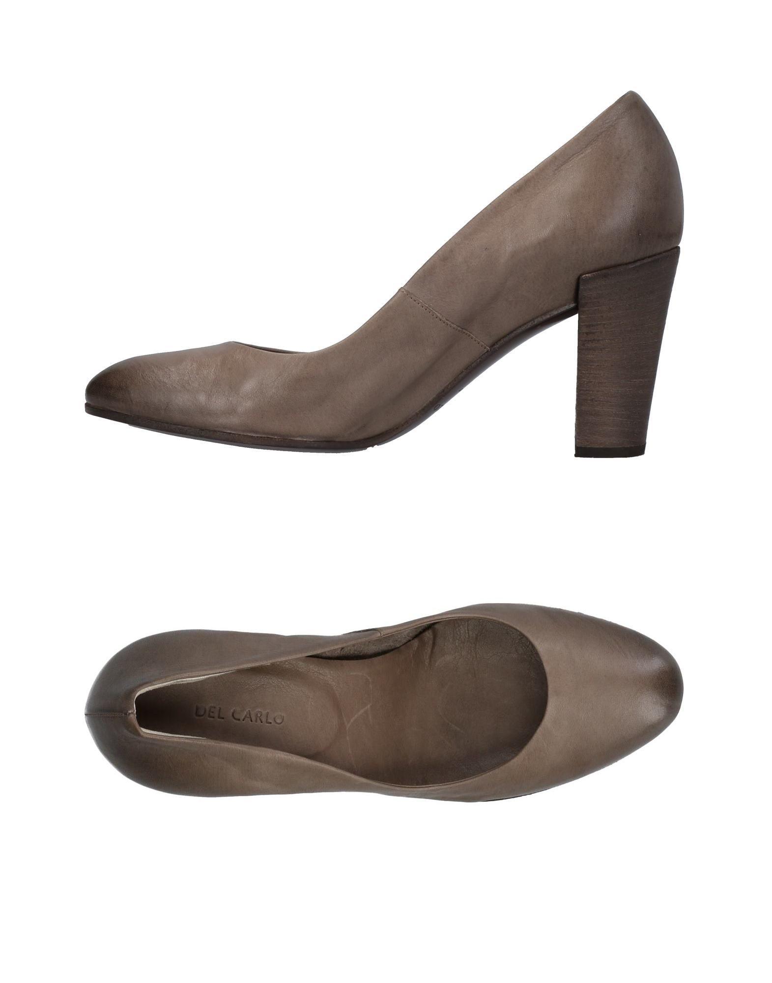 Zapatos casuales salvajes Zapato De Salón Del Carlo Mujer - - Mujer Salones Del Carlo  Plomo f35cea