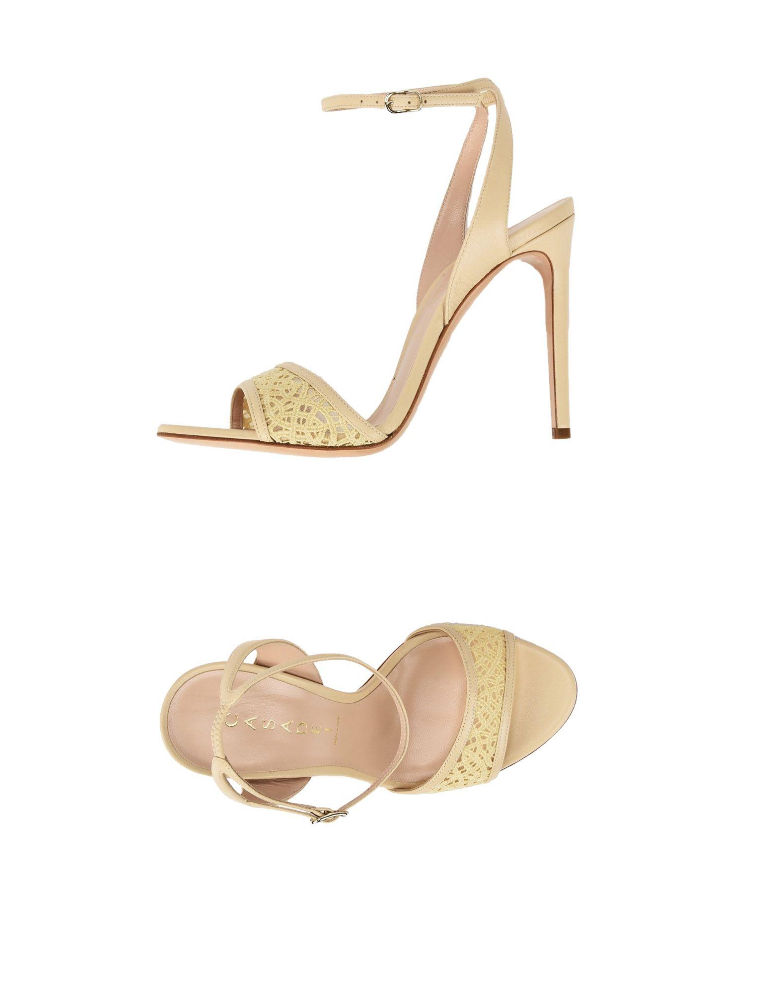 Casadei Sandalen Damen  11426023AOGut aussehende strapazierfähige Schuhe