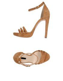 Cheap New Arrivals Byblos Women Sandals Sandals Byblos womens White BYBLOS Womens Sandals