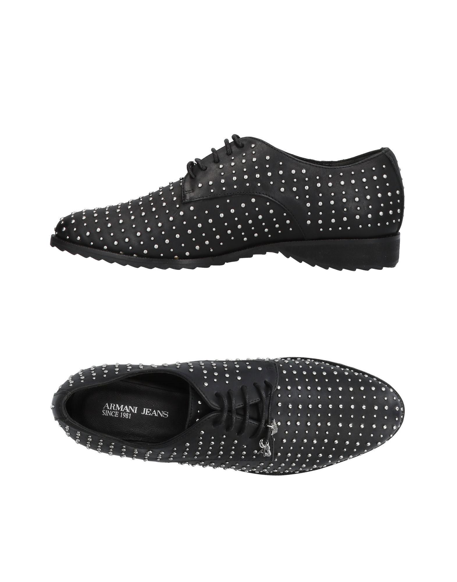 Chaussures À Lacets Armani Jeans Femme - Chaussures À Lacets Armani Jeans sur
