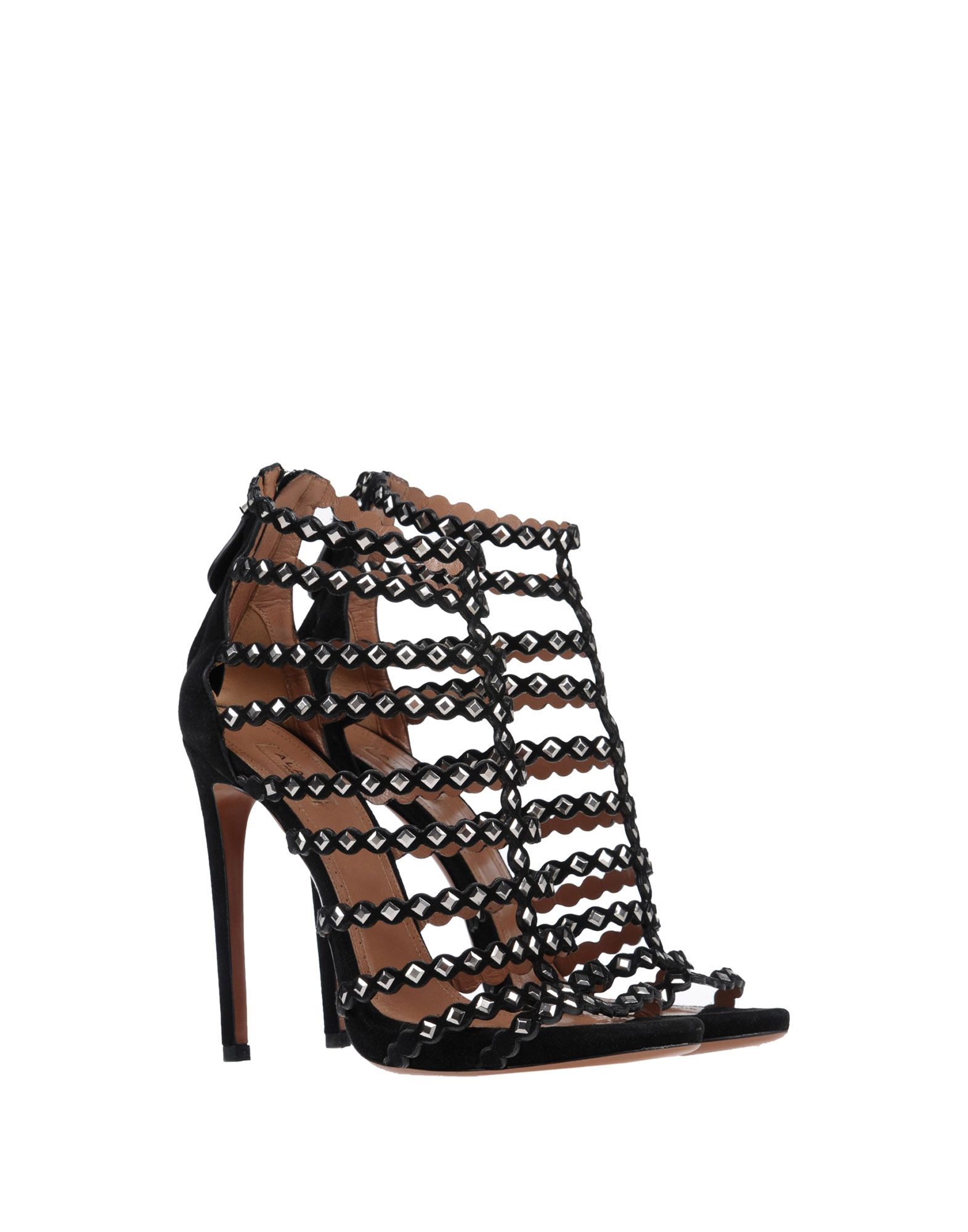 Alaïa Sandalen aussehende Damen  11427018WUGünstige gut aussehende Sandalen Schuhe b11ee9