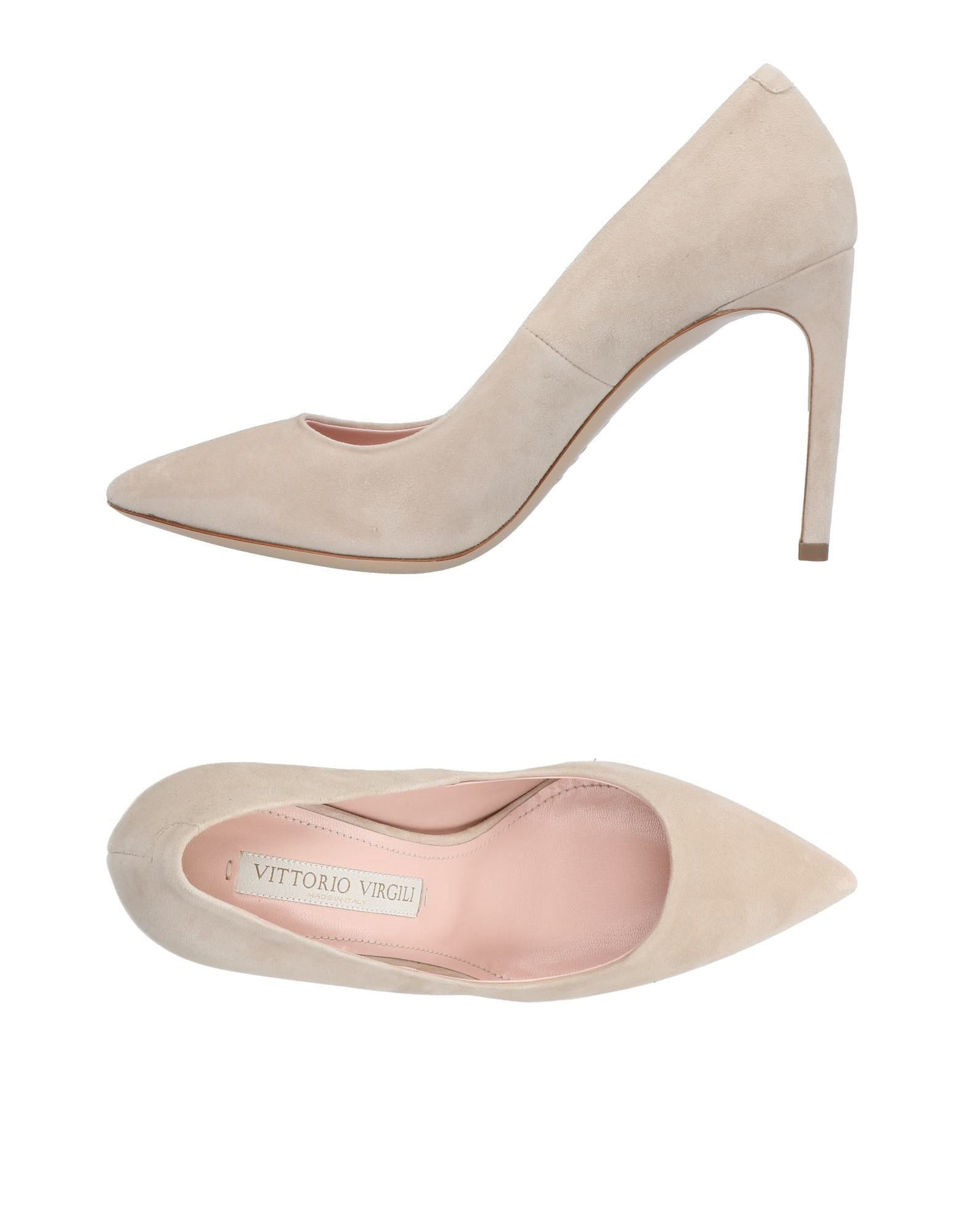 Descuento Vittorio de la marca Zapato De Salón Vittorio Descuento Virgili Mujer - Salones Vittorio Virgili  Beige b435a0