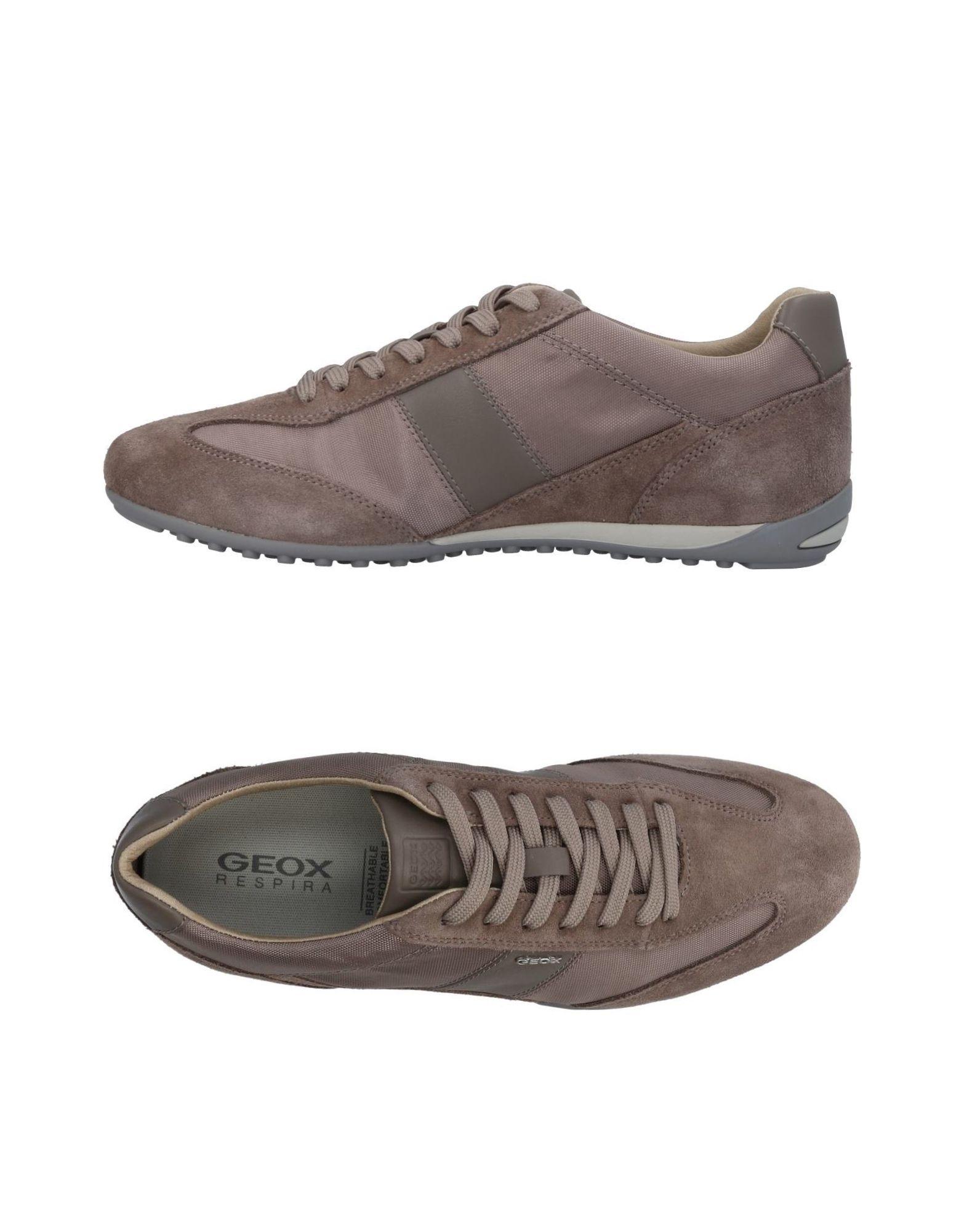 Sneakers Geox Homme - Sneakers Geox  Kaki Dédouanement saisonnier