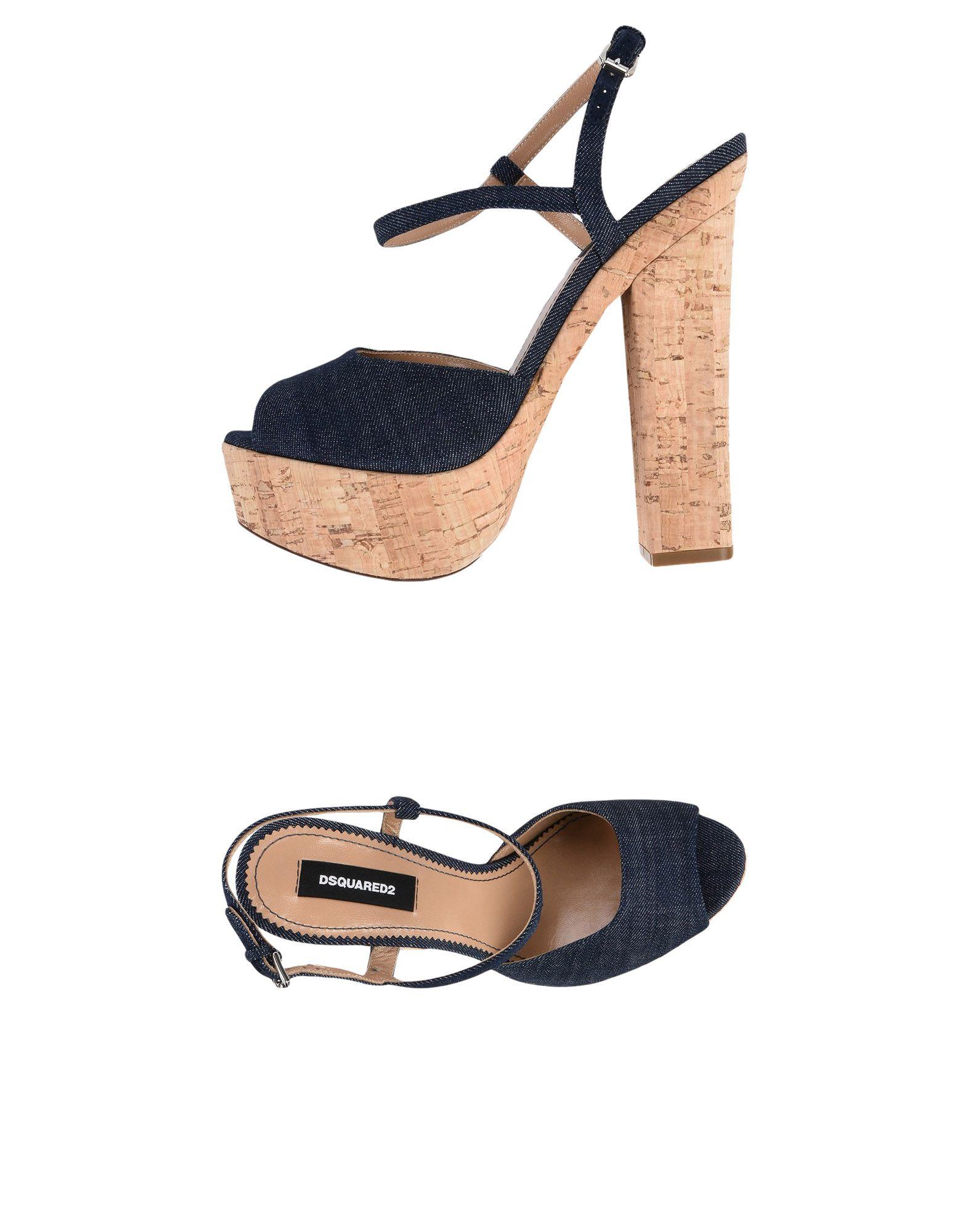 Rabatt Schuhe Dsquared2 Sandalen Damen  11428241AV