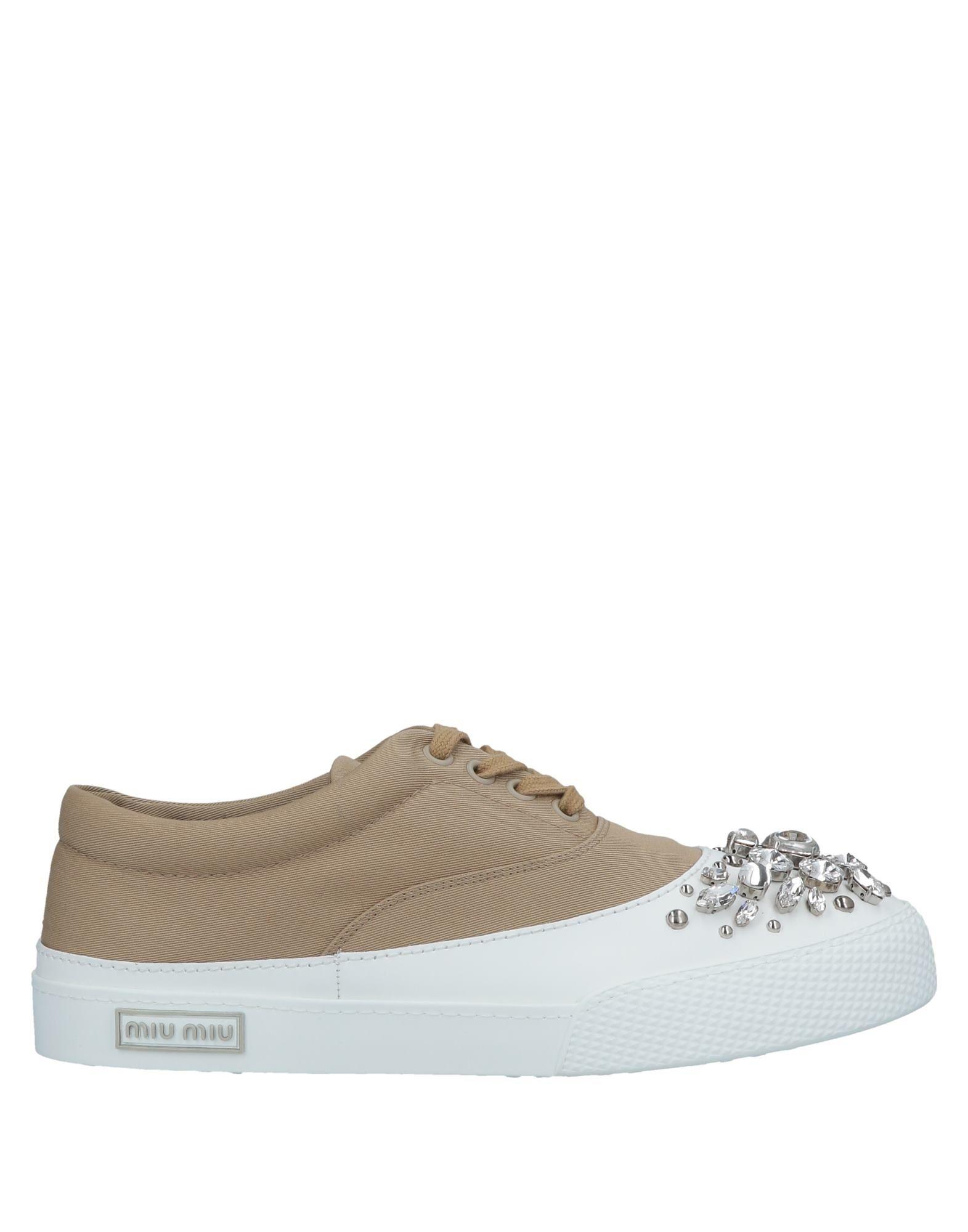2dfba083b6a9 Miu Miu Sneakers - Women Miu Miu Sneakers online on YOOX United ...