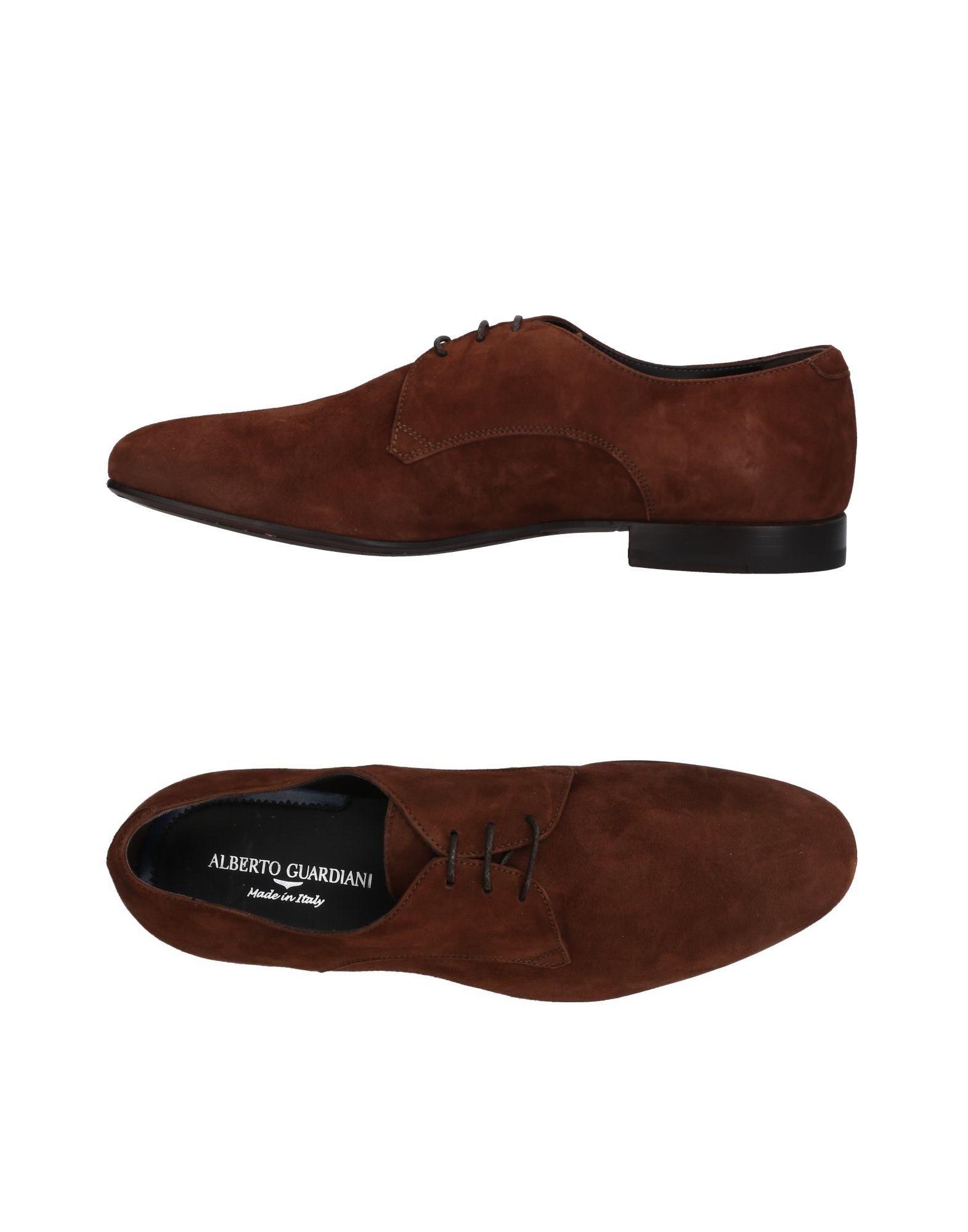 Rabatt echte Schuhe Alberto Guardiani Schnürschuhe Herren  11428353LG