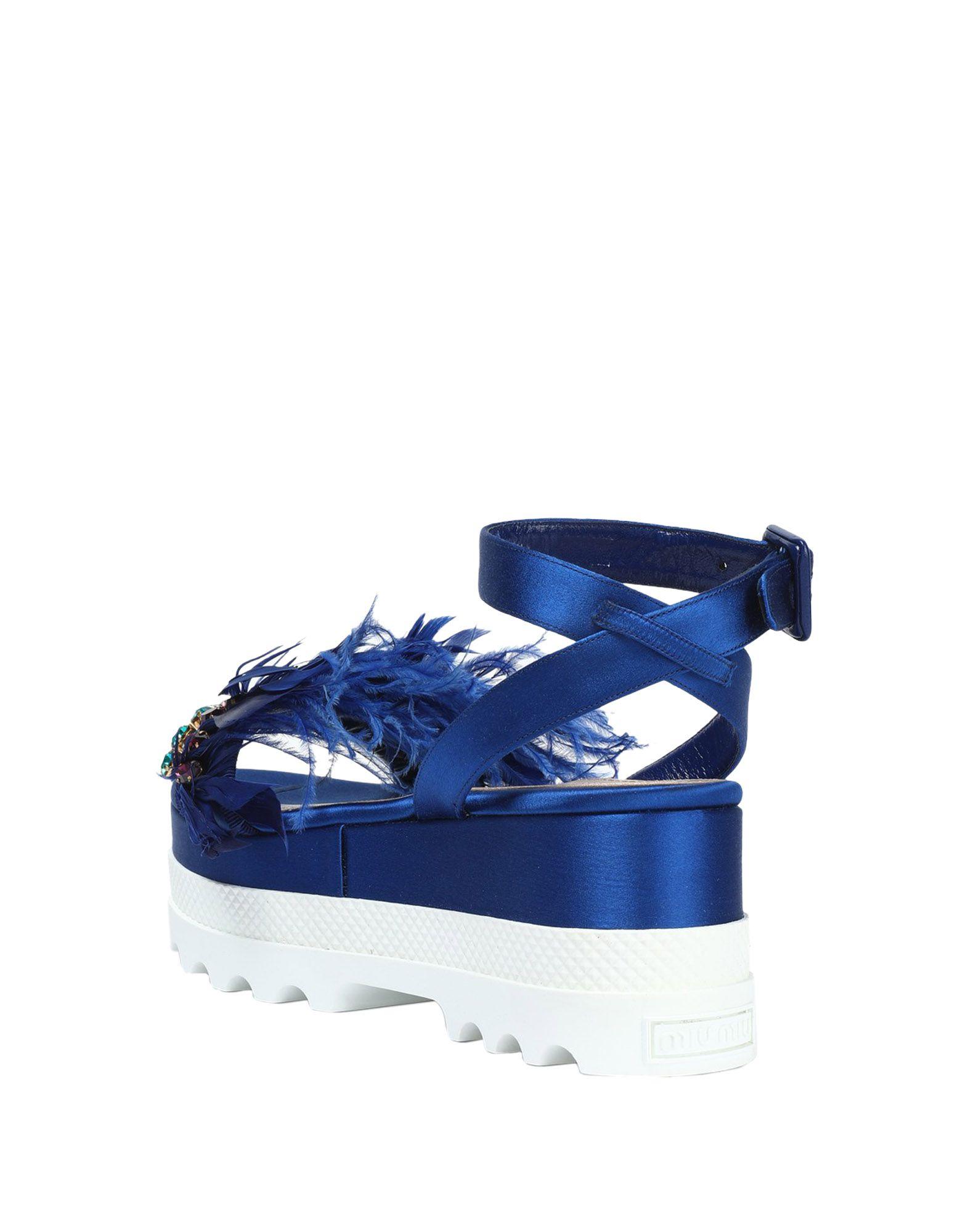 Miu  Miu Sandalen Damen  Miu 11428664VXGünstige gut aussehende Schuhe 973983