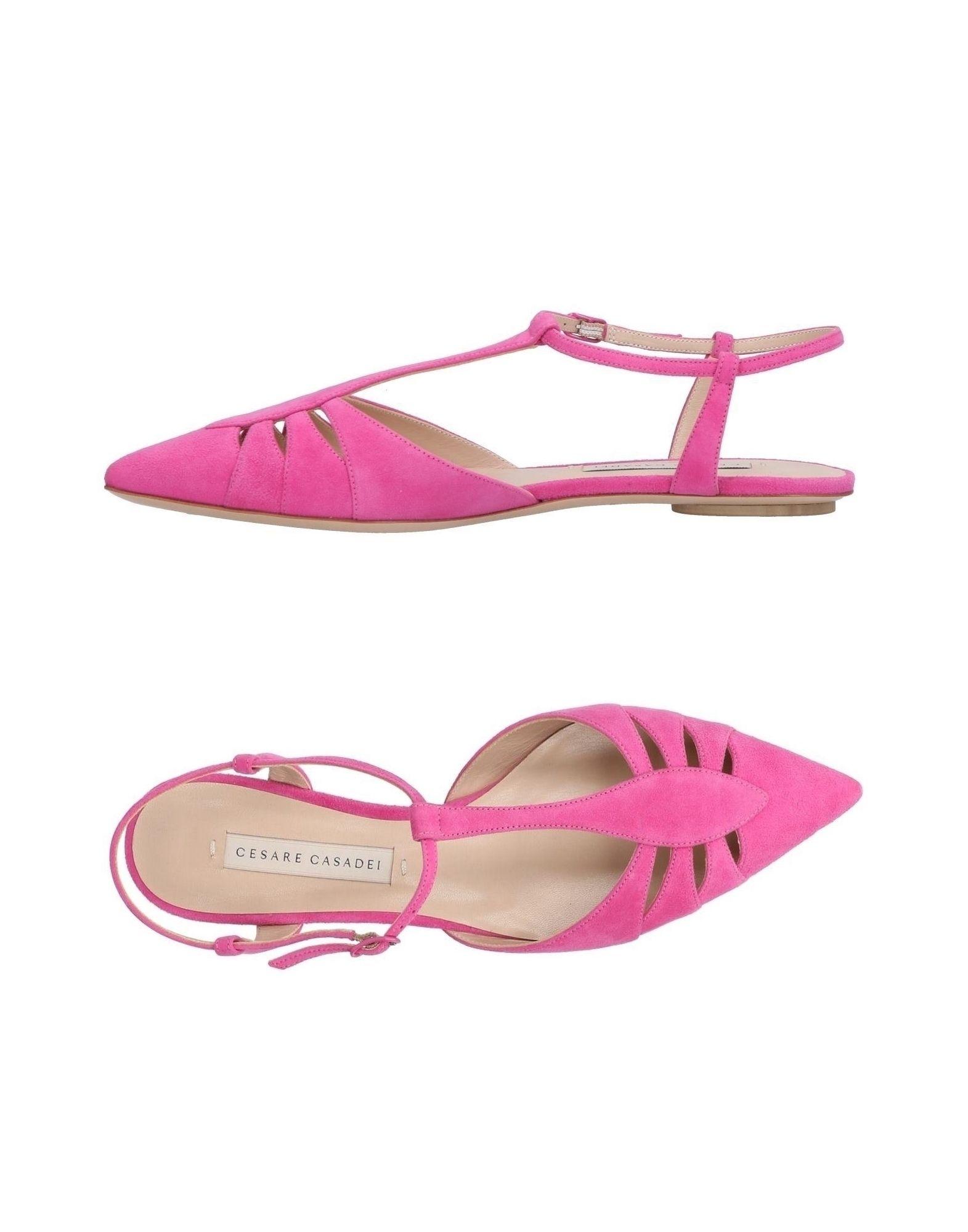 Stilvolle billige Schuhe Cesare Casadei Ballerinas Damen  11428672PM