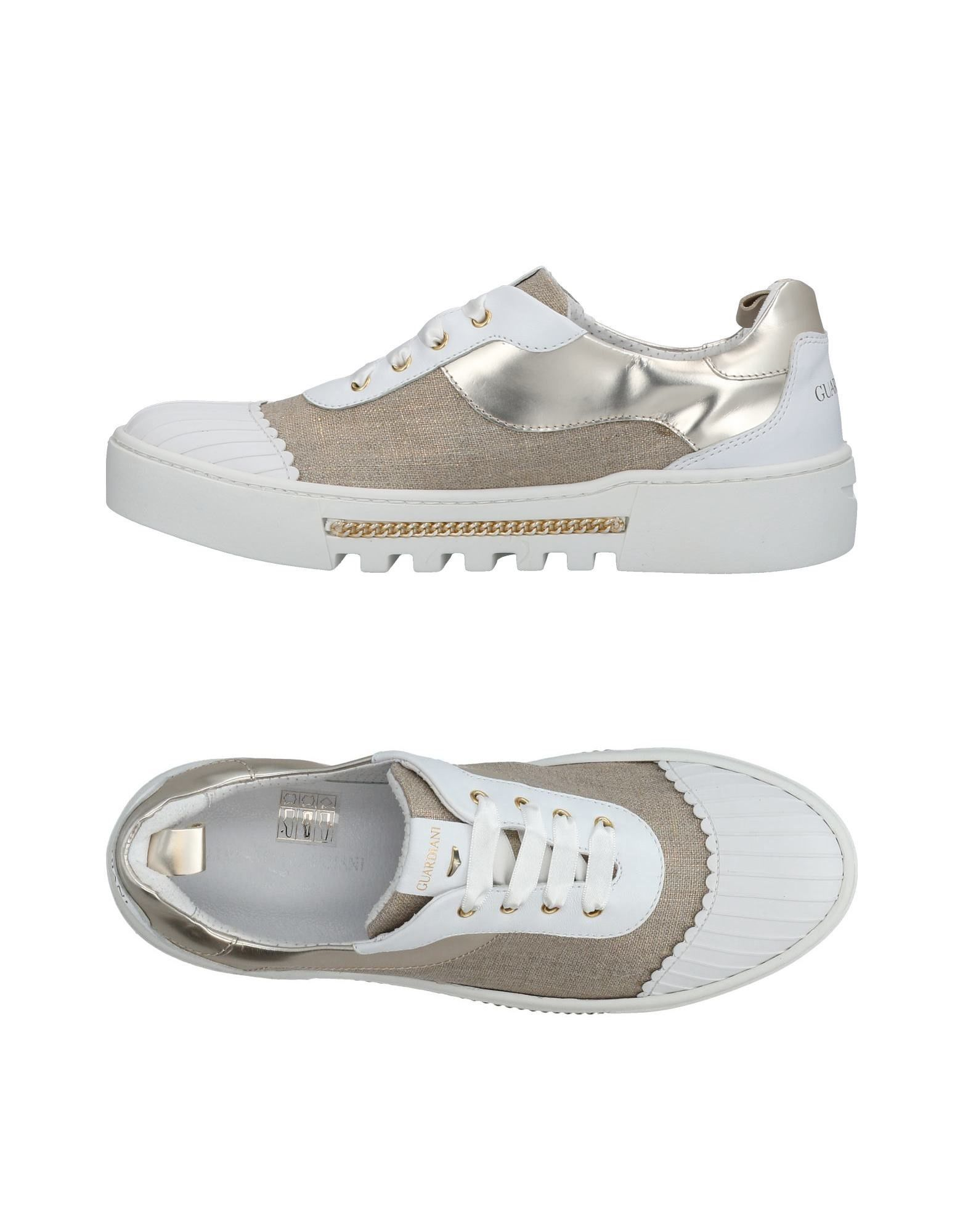 Baskets Alberto Guardiani Femme - Baskets Alberto Guardiani Blanc Dédouanement saisonnier