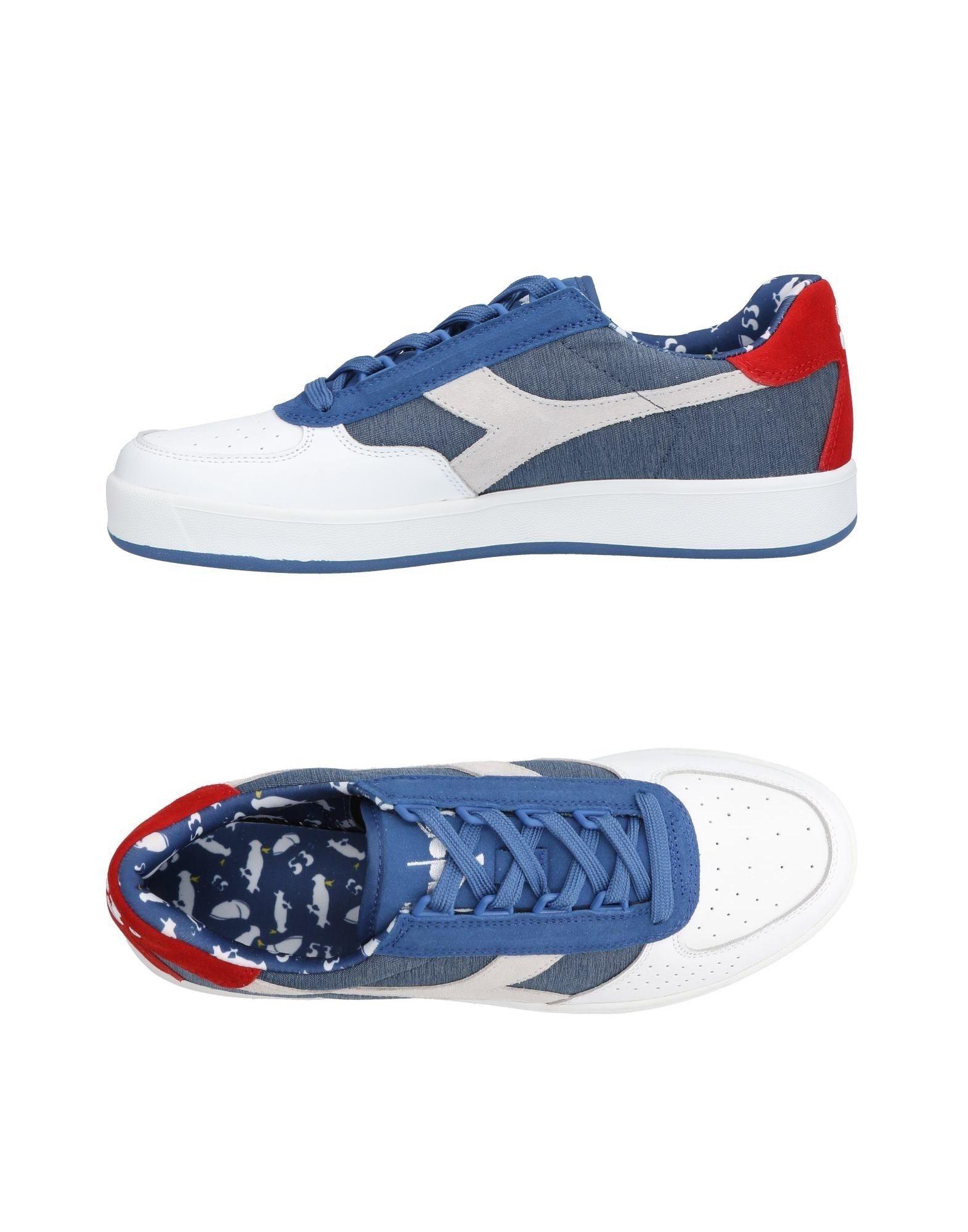 Chaussures Homme Dernières Baskets Diadora Blanc RvwxaO