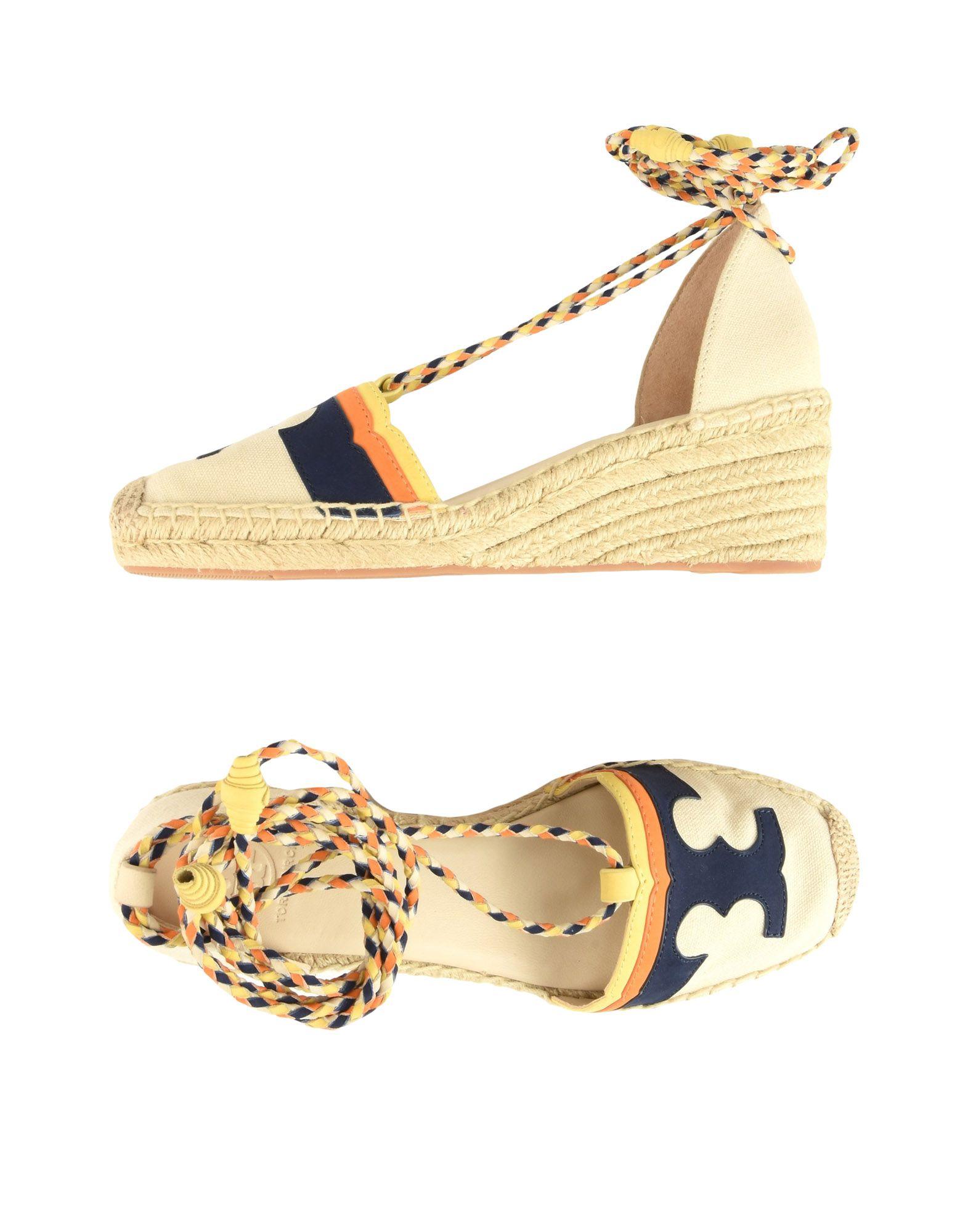 Stilvolle billige Schuhe Tory Burch Espadrilles Damen  11429562UL