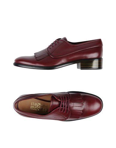 1dd68729086 Zapato De Cordones Salvatore Ferragamo Mujer - Zapatos De Cordones  Salvatore Ferragamo - 11429587HM Burdeos