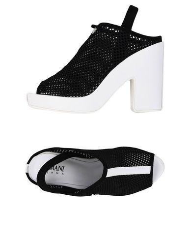 Los últimos zapatos de mujeres descuento para hombres y mujeres de Sandalia Armani Jeans Mujer - Sandalias Armani Jeans - 11429957HF Negro 2e5610