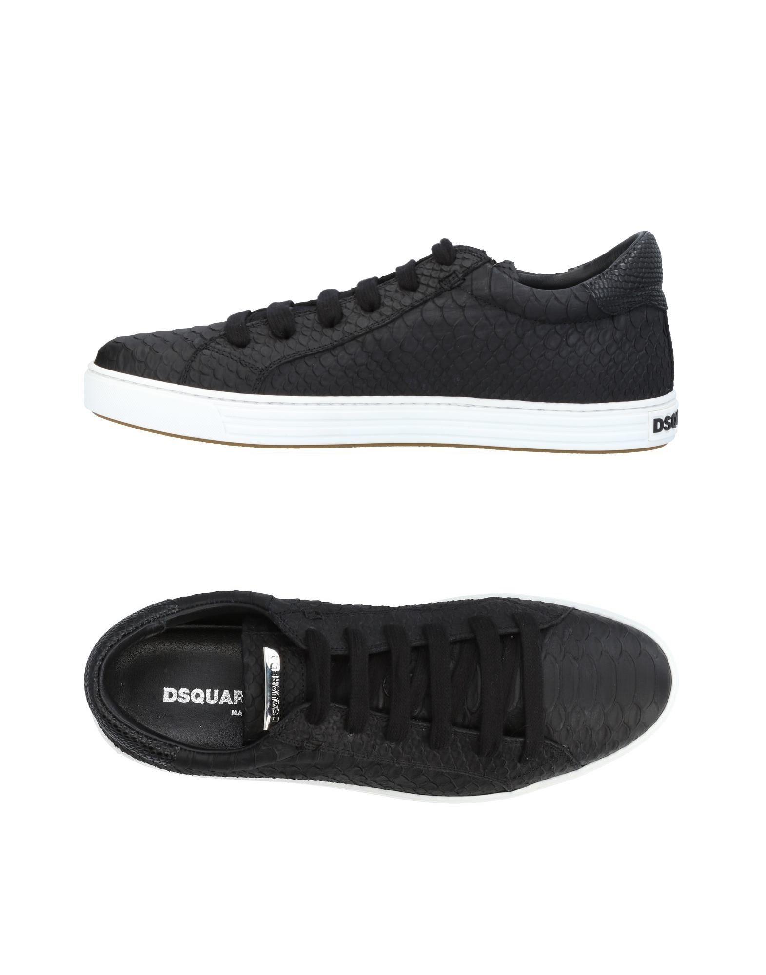 Baskets Dsquared2 Homme - Baskets Dsquared2  Noir Les chaussures les plus populaires pour les hommes et les femmes