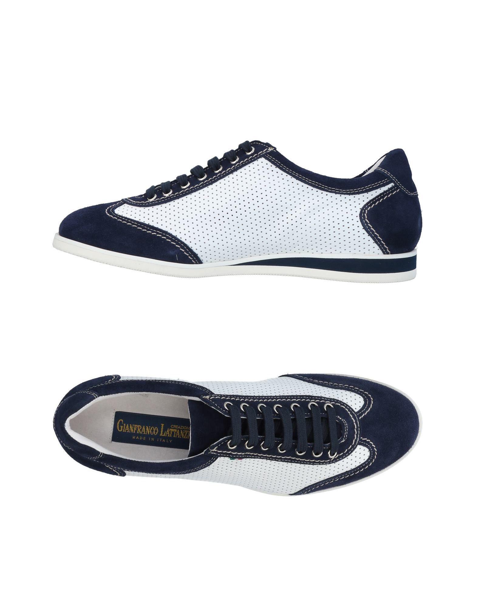 Sneakers Gianfranco Lattanzi Homme - Sneakers Gianfranco Lattanzi  Bleu foncé Chaussures casual sauvages