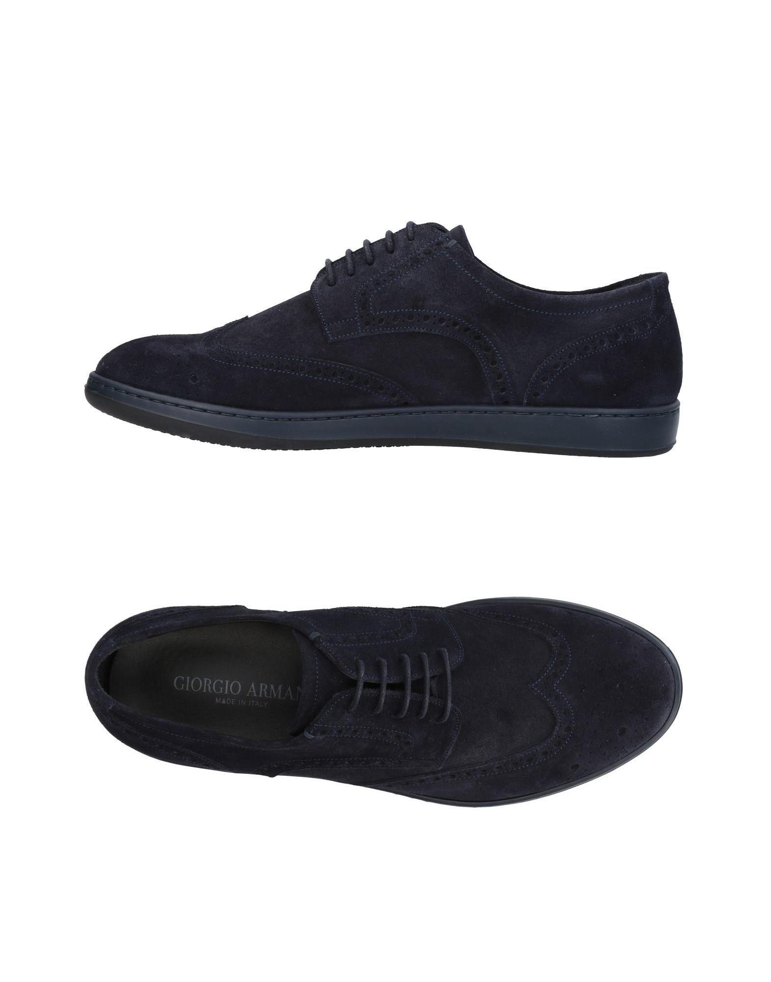 Sneakers Giorgio Armani Homme - Sneakers Giorgio Armani  Bleu foncé Meilleur modèle de vente