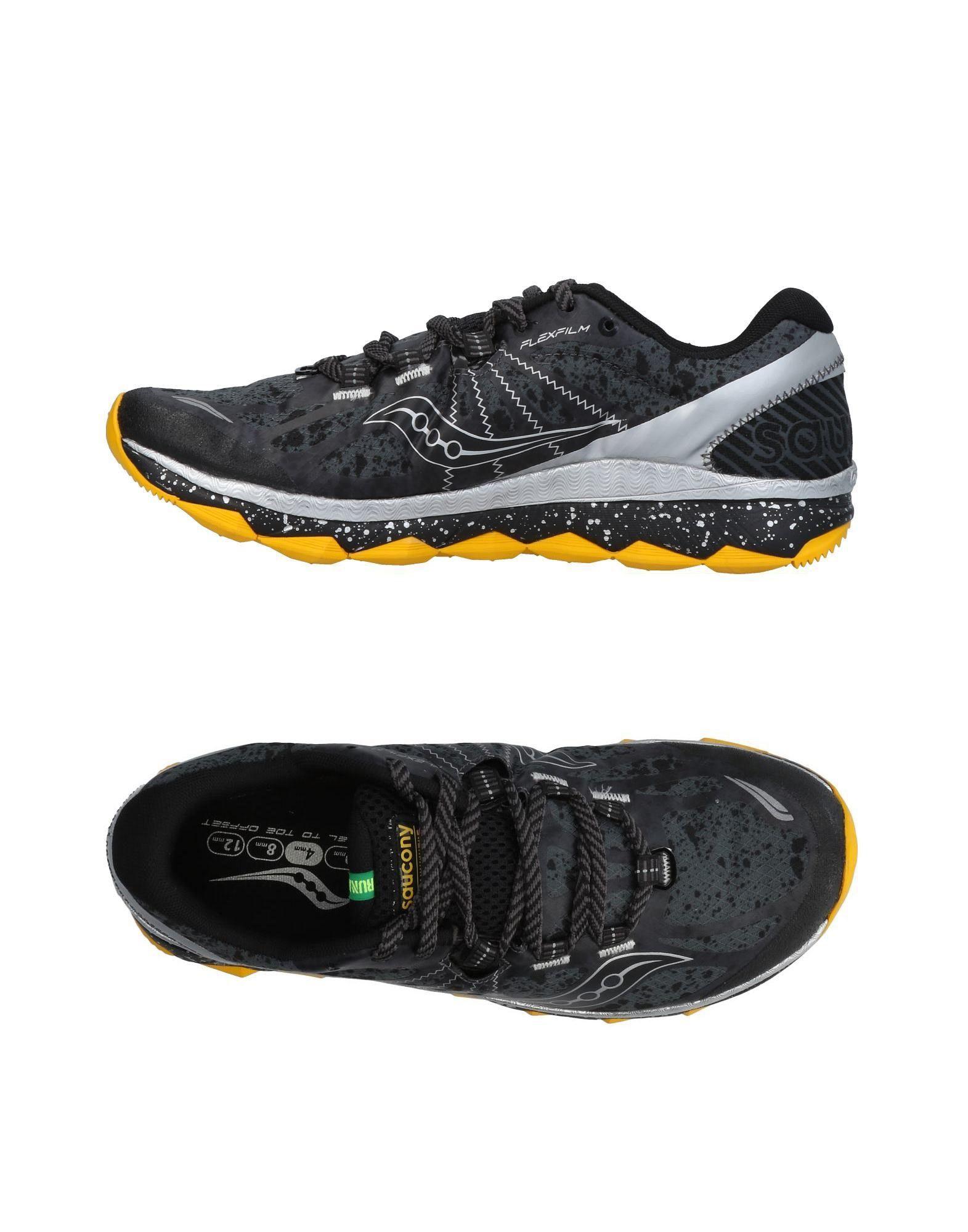 Sneakers Saucony Homme - Sneakers Saucony  Anthracite Dernières chaussures discount pour hommes et femmes