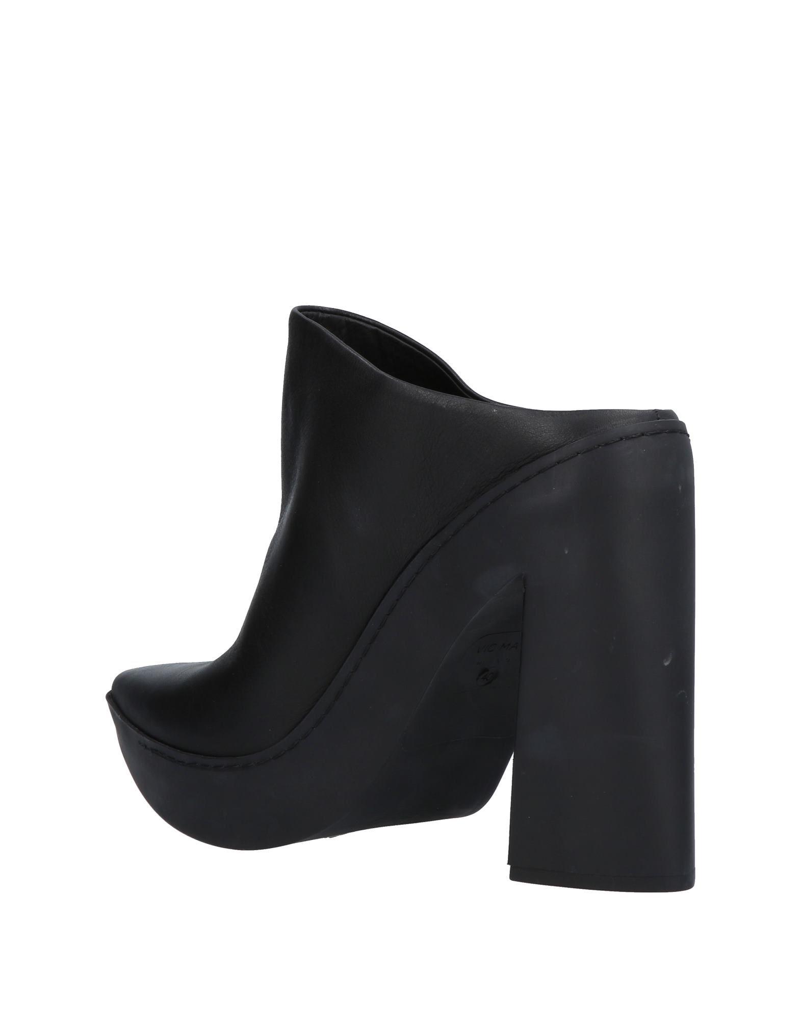 Stilvolle billige Schuhe Vic Matiē Pantoletten Damen  11431192HN