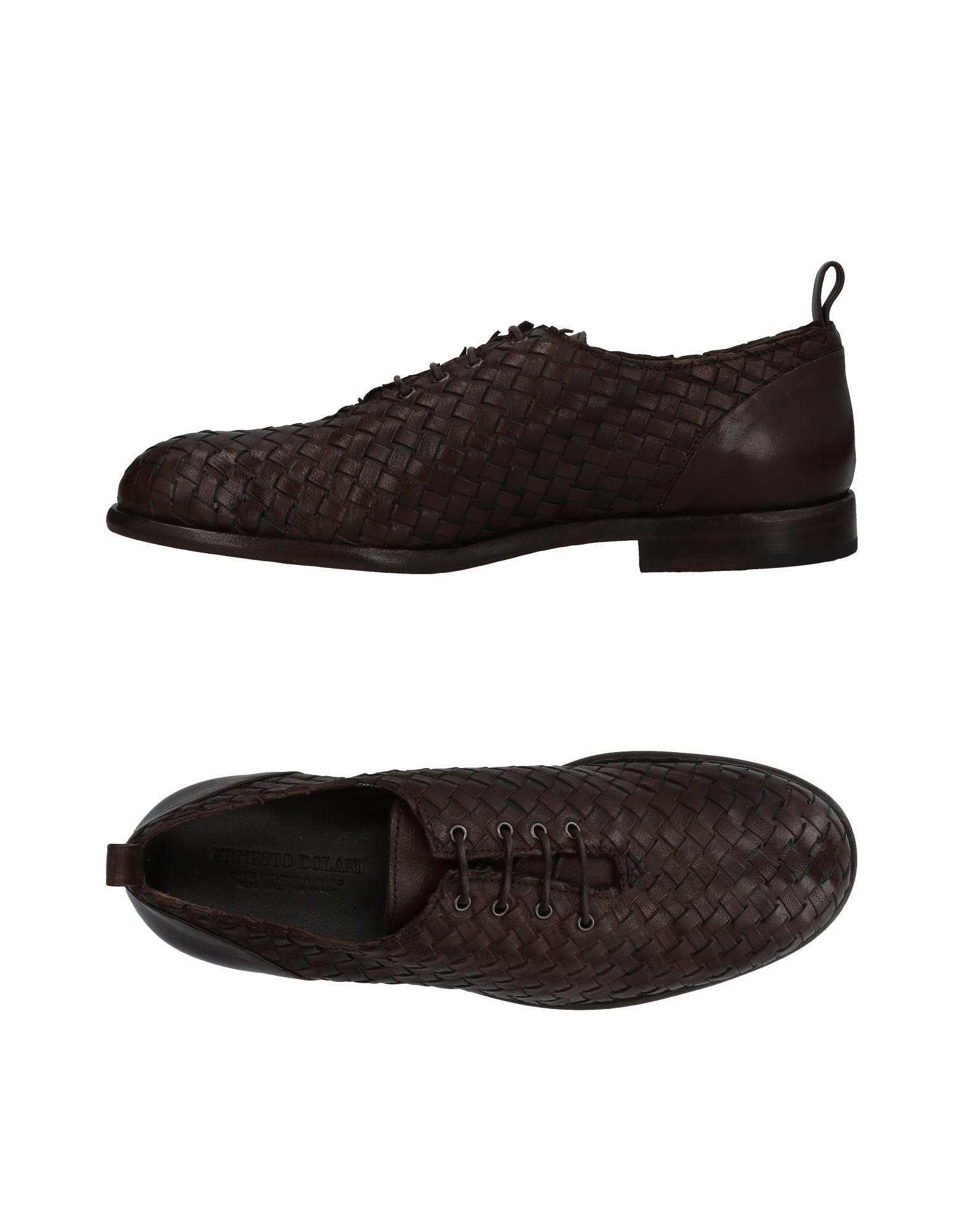 Rabatt echte Schuhe Ernesto Dolani Schnürschuhe Herren  11431861QG