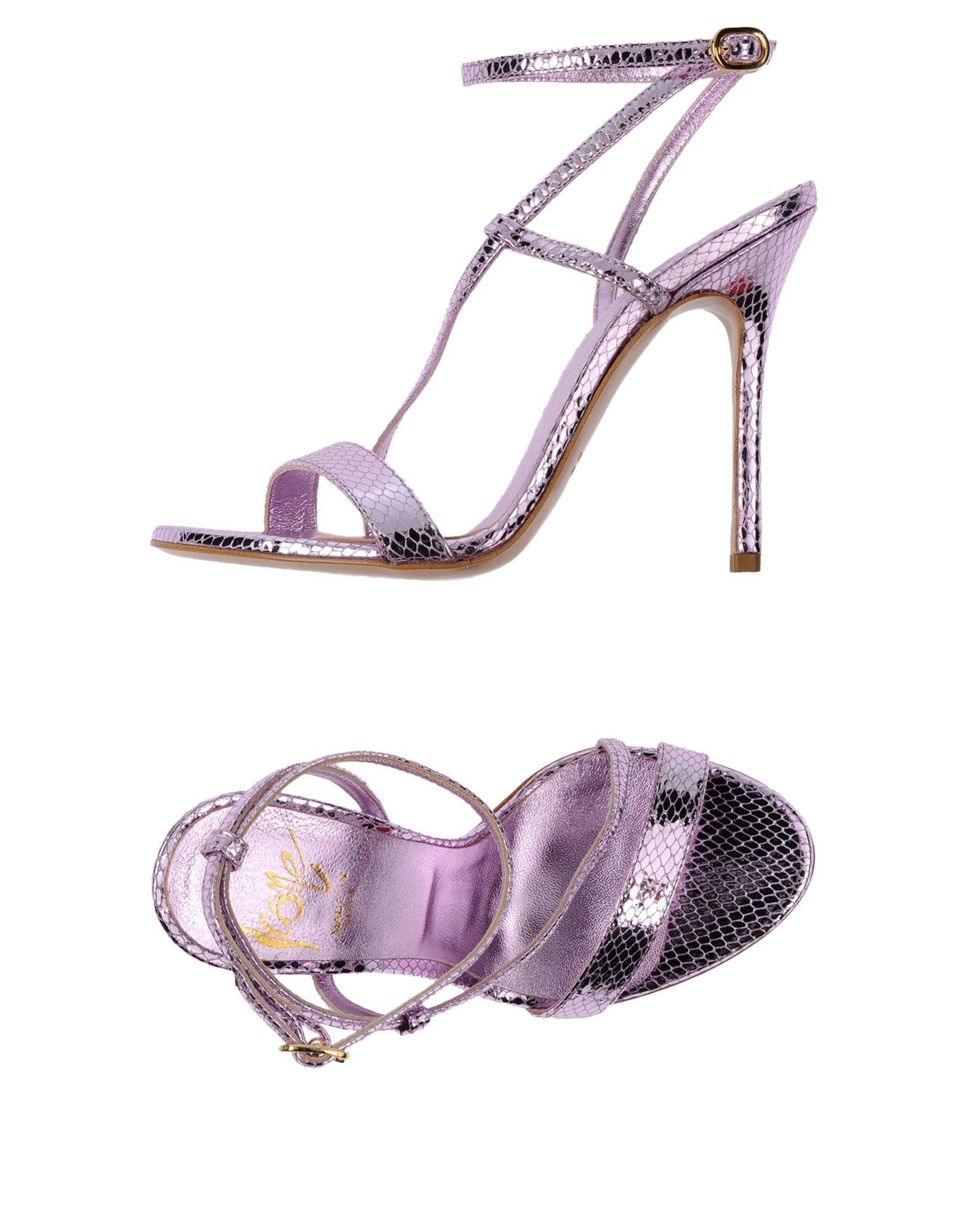 Stilvolle billige Schuhe Icône Sandalen Damen  11432124FD