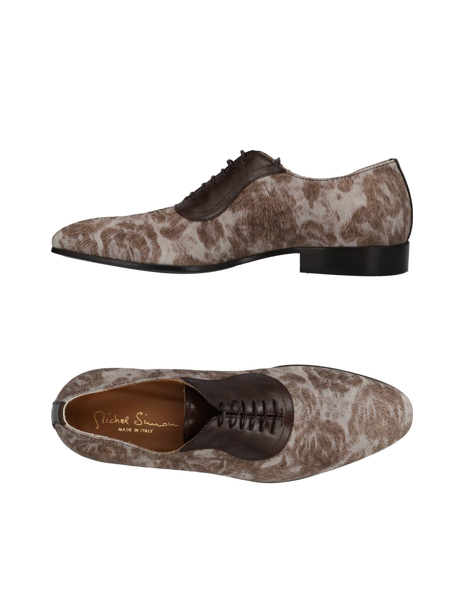 Rabatt echte Schuhe Michel Simon Schnürschuhe Herren  11432228BV