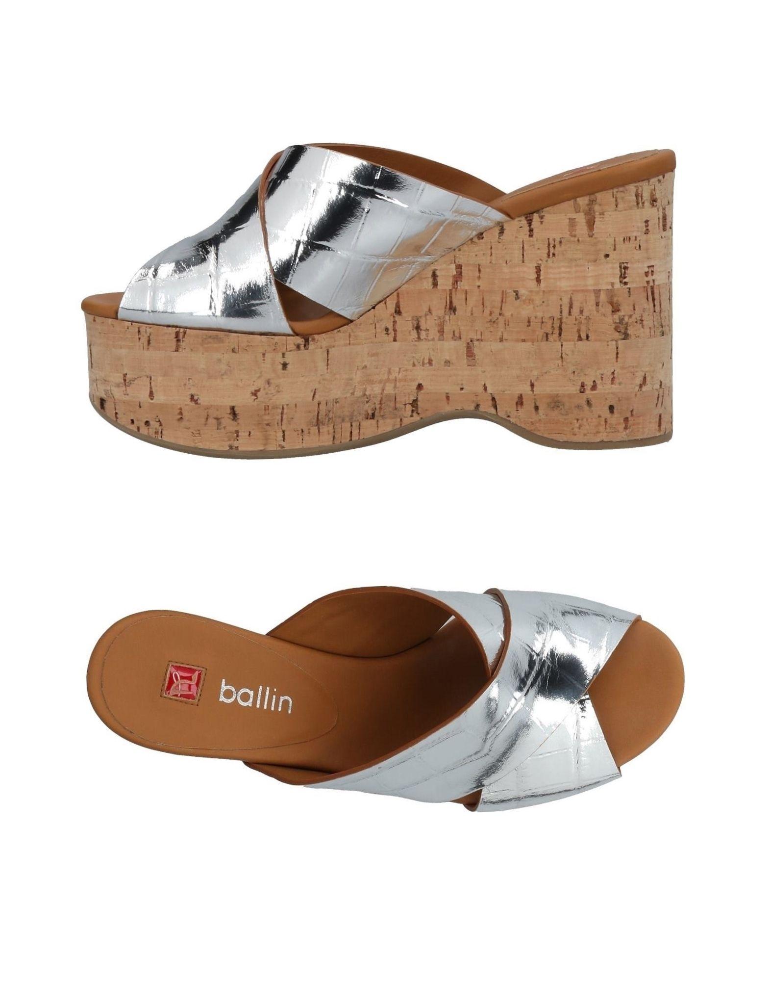 Ballin Pantoletten Damen  11432354MRGut aussehende strapazierfähige Schuhe