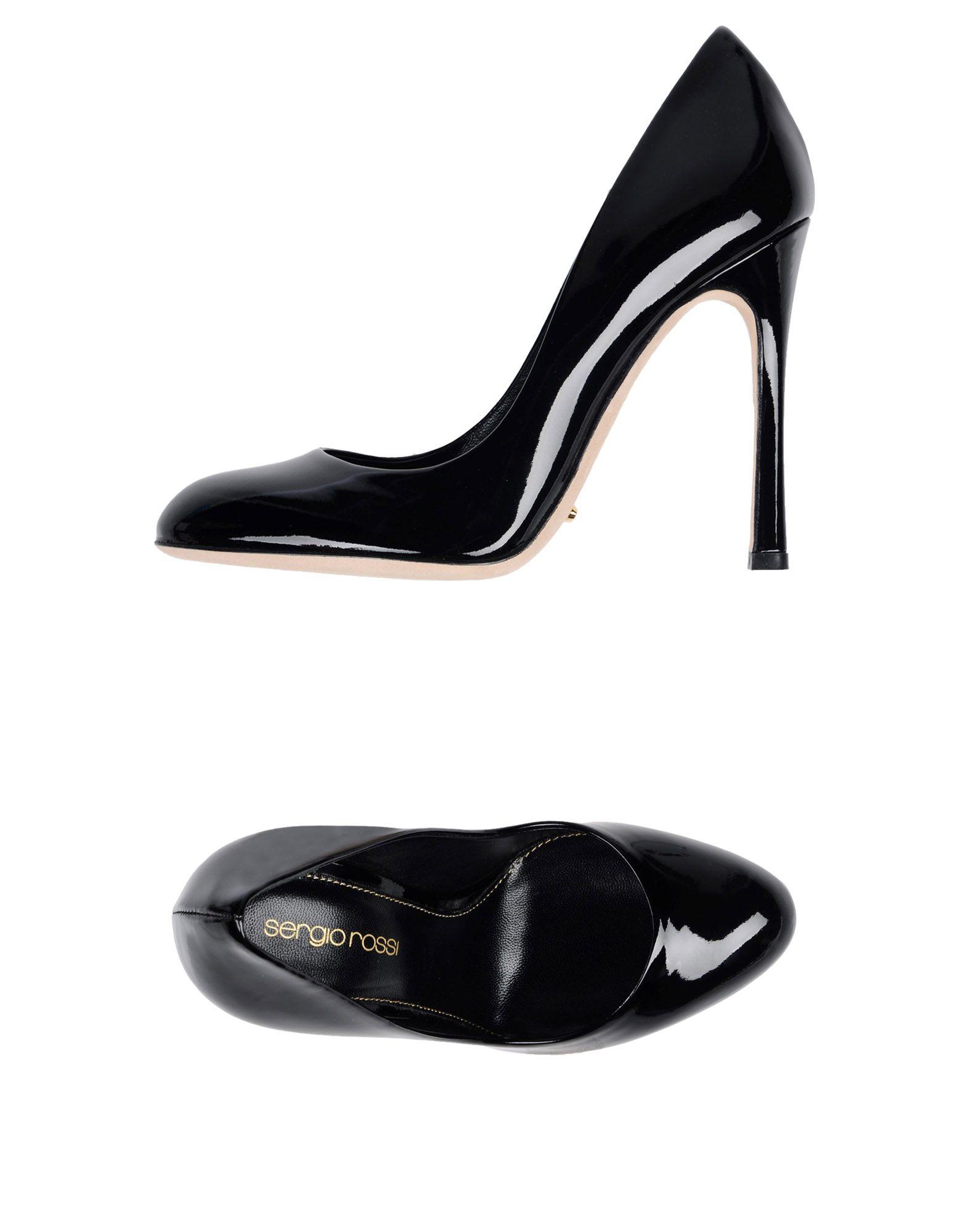 Stilvolle billige Schuhe Sergio Rossi Pumps Damen  11432590GR