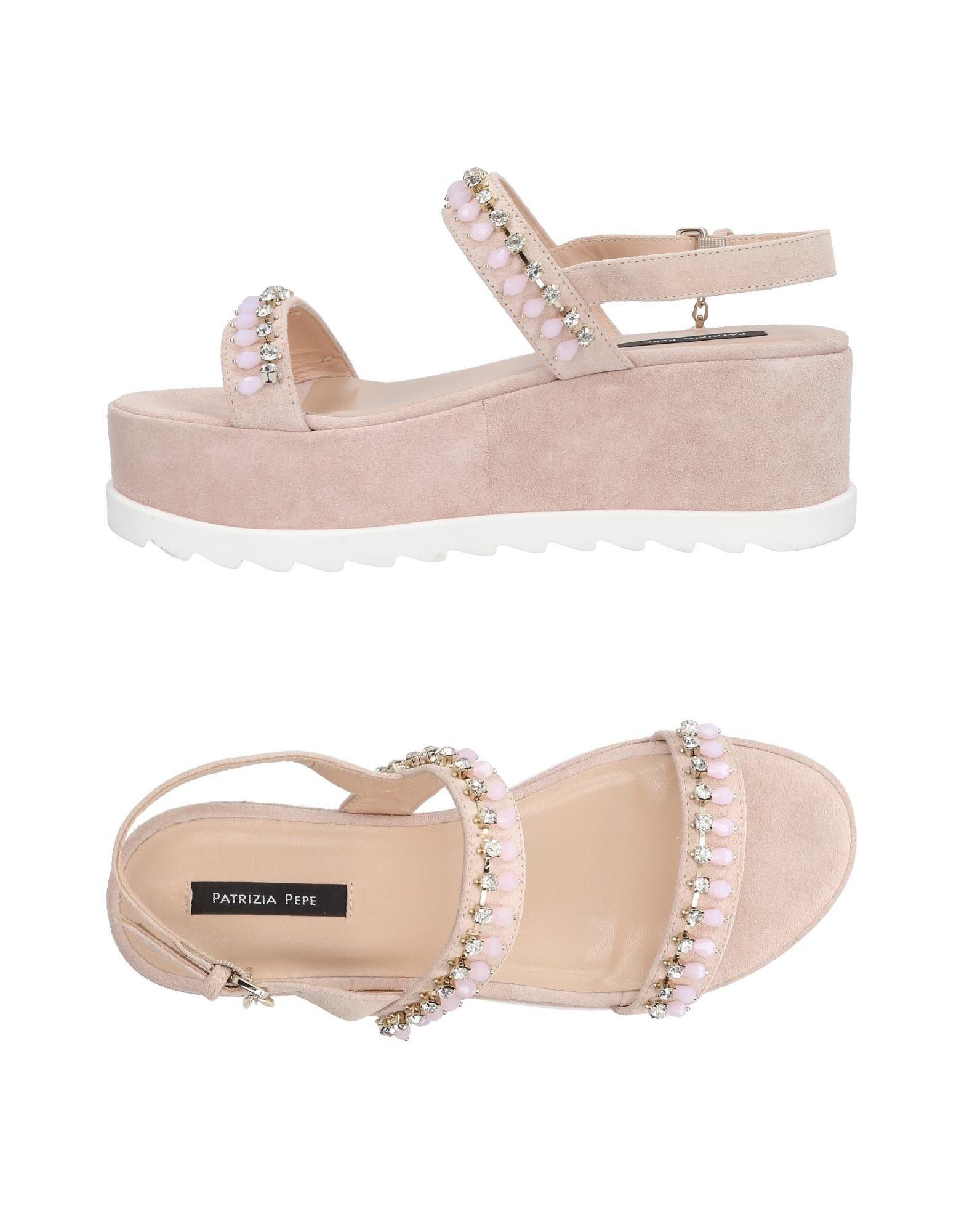 Stilvolle billige Schuhe Patrizia Pepe Sandalen Damen  11432833MR