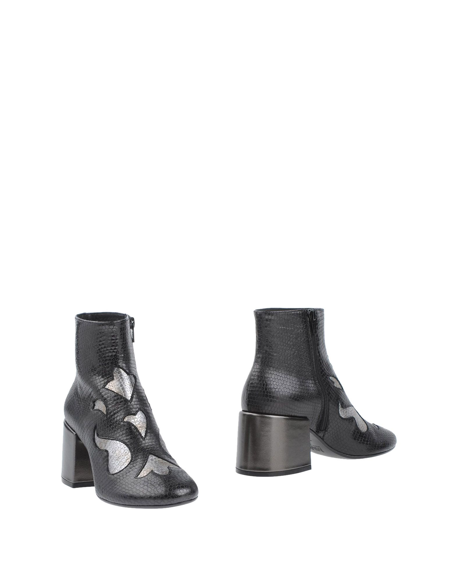 Bottine Mm6 Maison Margiela Femme - Bottines Mm6 Maison Margiela Noir Chaussures casual sauvages
