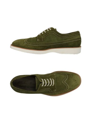 CALZOLERIA TOSCANA Laced Shoes in Military Green
