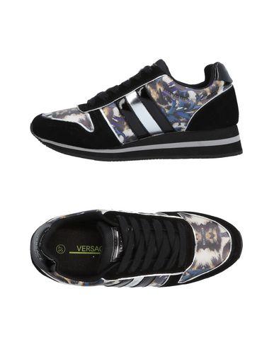 Los últimos zapatos de hombre y mujer Zapatillas Versace Jeans Mujer - Zapatillas Versace Jeans - 11433423NH Negro