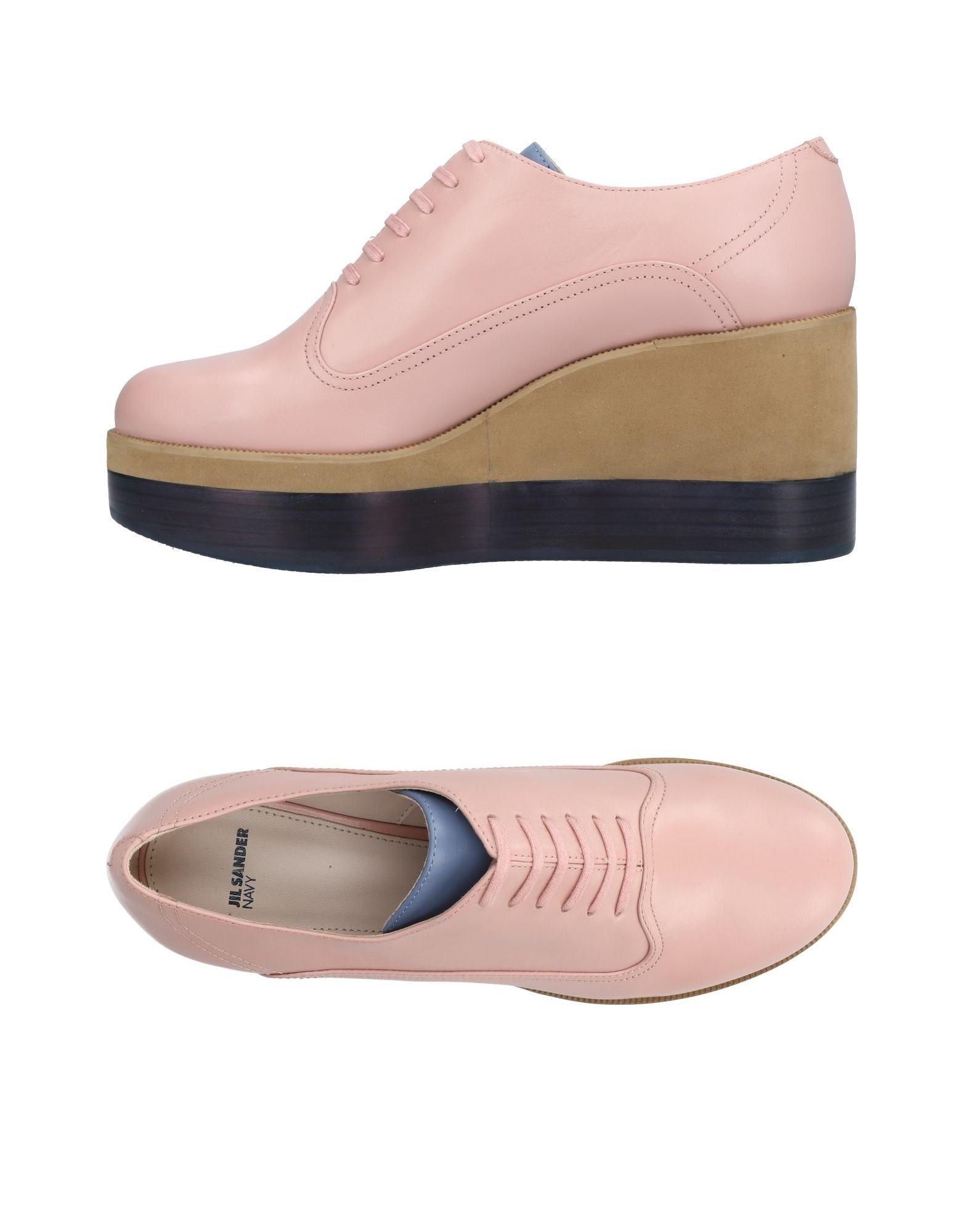 Jil Sander Navy Schnürschuhe Neue Damen  11433428NQ Neue Schnürschuhe Schuhe 96a123