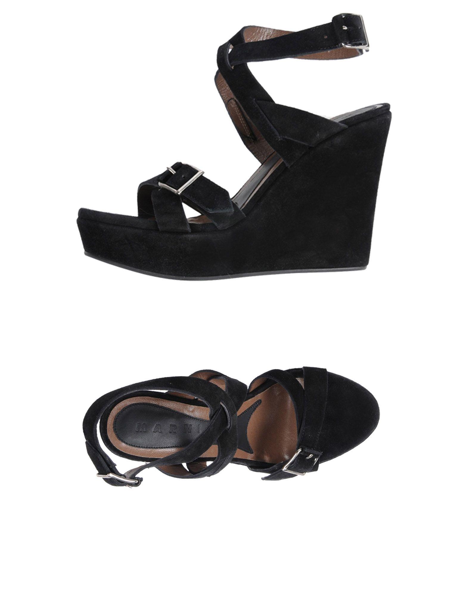 Marni Sandalen Damen  11433545QAGut aussehende strapazierfähige Schuhe