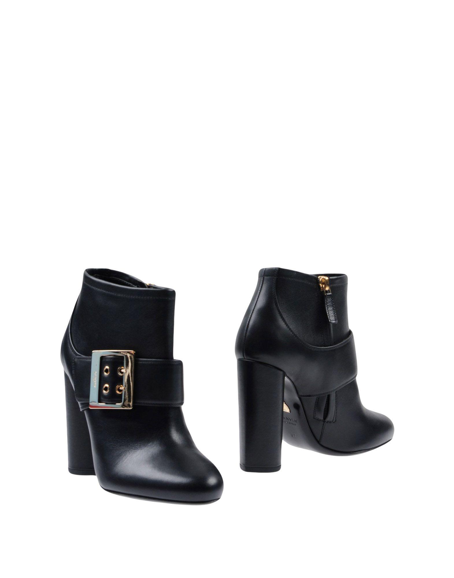 Lanvin Stiefelette Damen  11433636KFGut aussehende strapazierfähige Schuhe