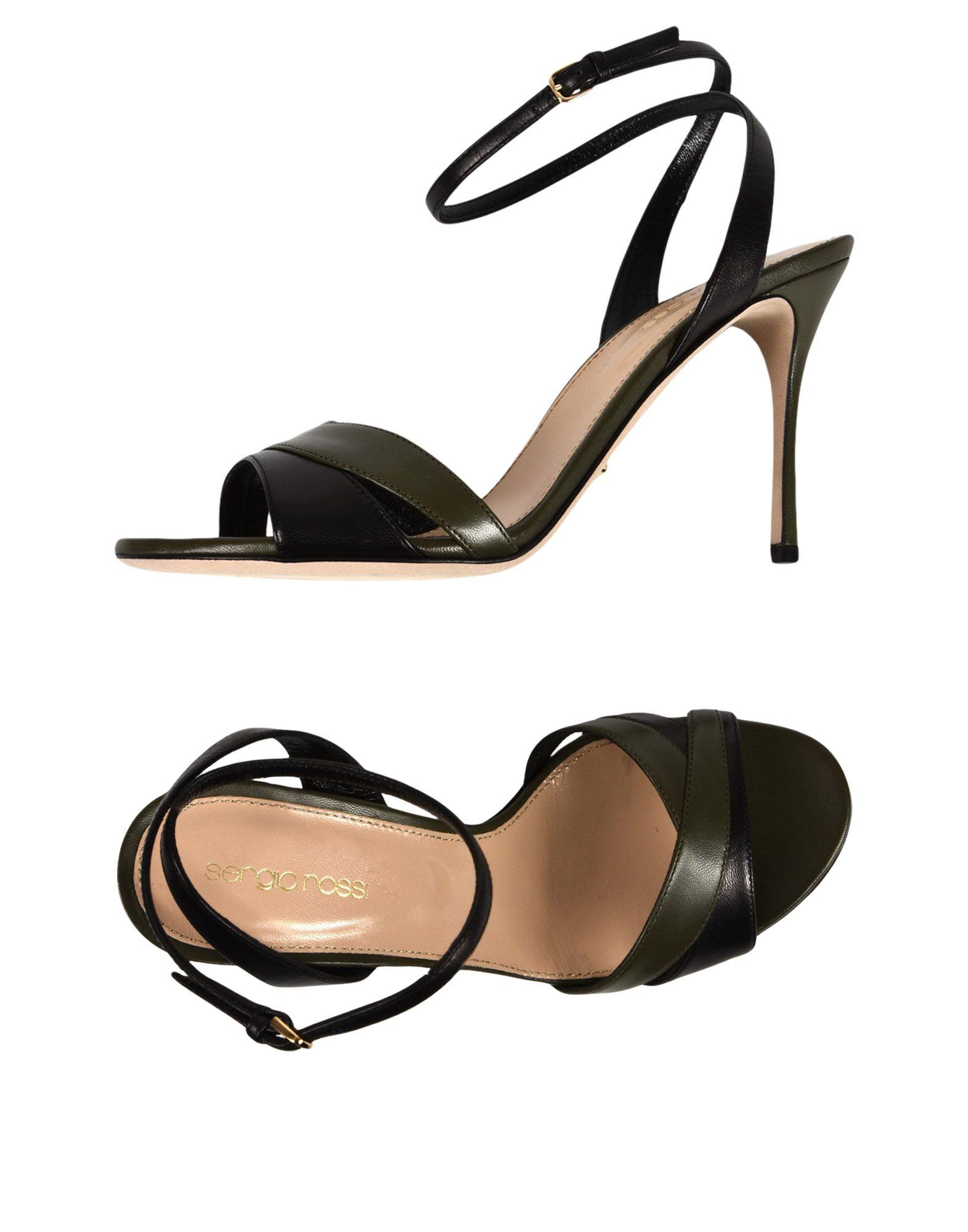 Sergio Rossi Sandalen Damen  11433642RJ Beliebte Schuhe