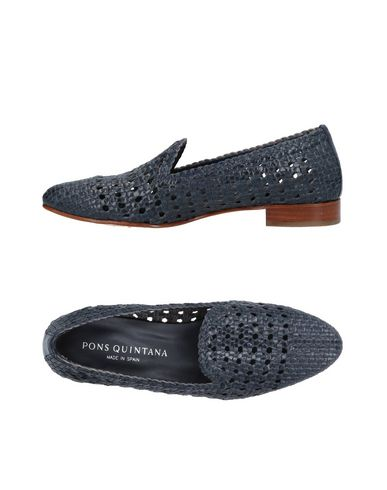 PONS QUINTANA Loafers Dark blue Women