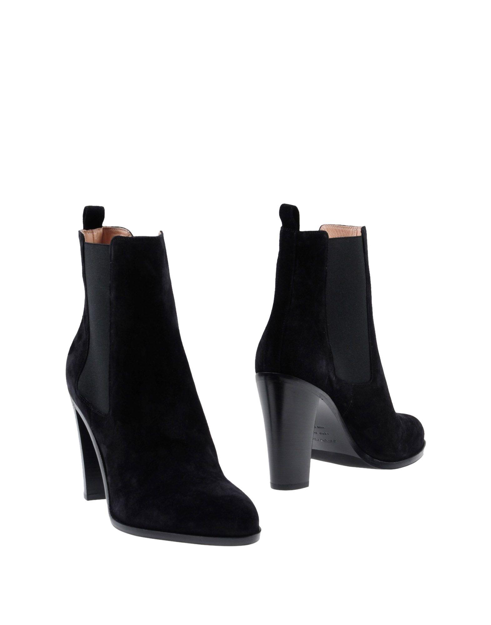 Sergio Rossi Chelsea Boots Damen  11433898WOGut aussehende strapazierfähige Schuhe