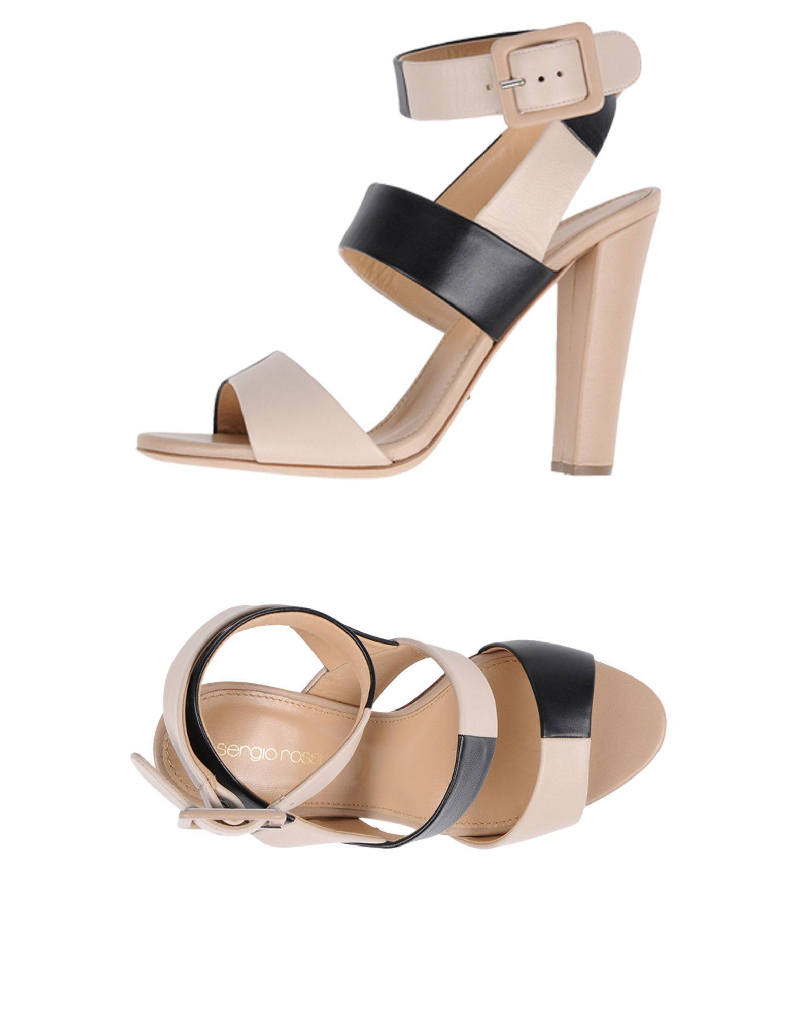 Sergio Rossi Sandalen Damen  11433957SPGut aussehende strapazierfähige Schuhe