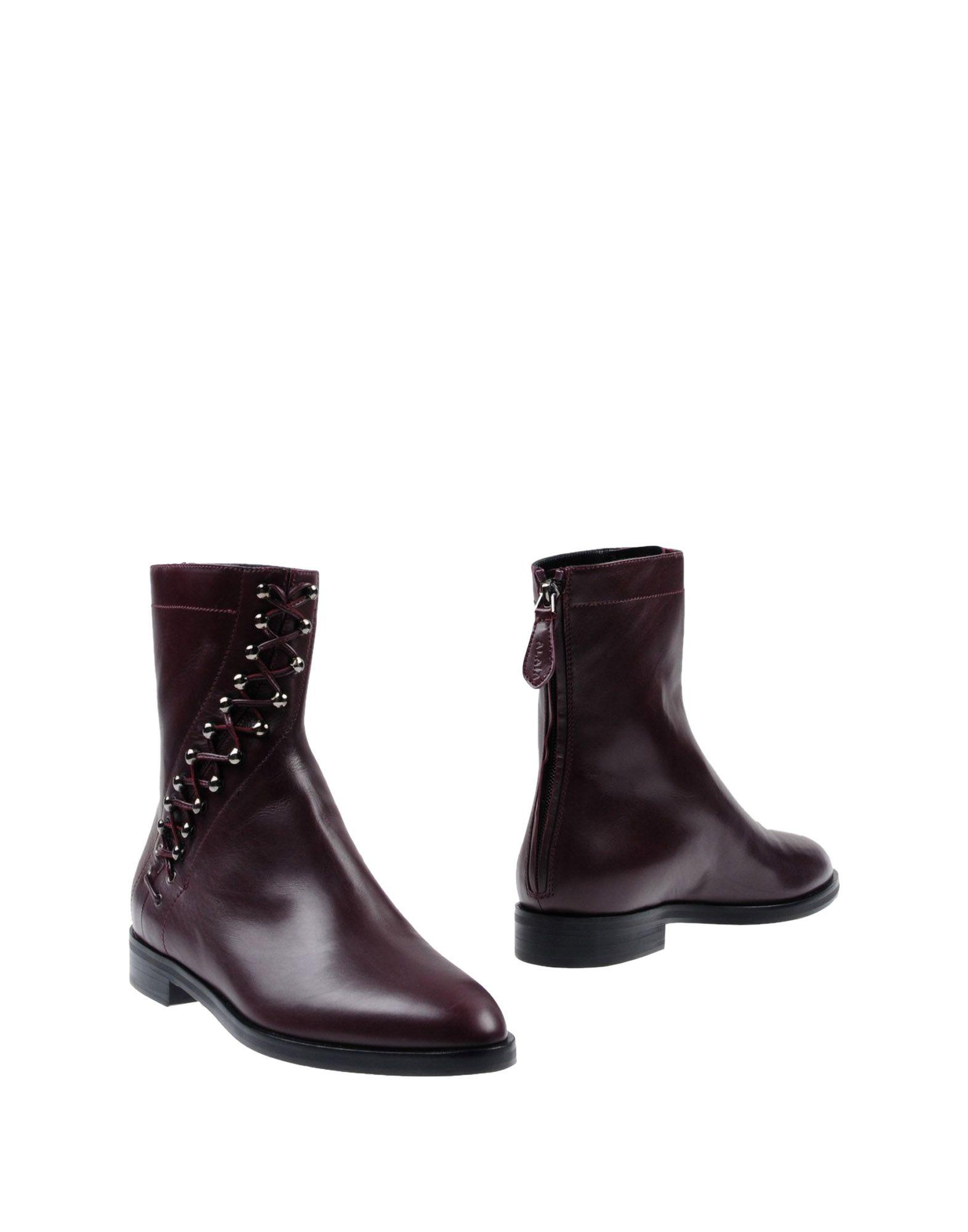 Alaïa Stiefelette Damen  11434061EEGünstige gut aussehende Schuhe