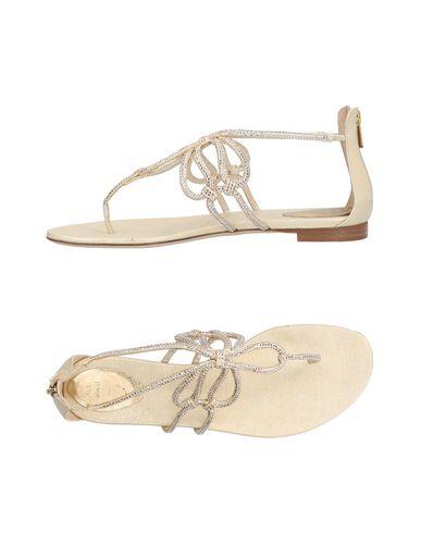 Cómodo y bien parecido Sandalias De Dedo Re' Caovilla Mujer - Sandalias De Dedo Re' Caovilla   - 11434193DQ Beige