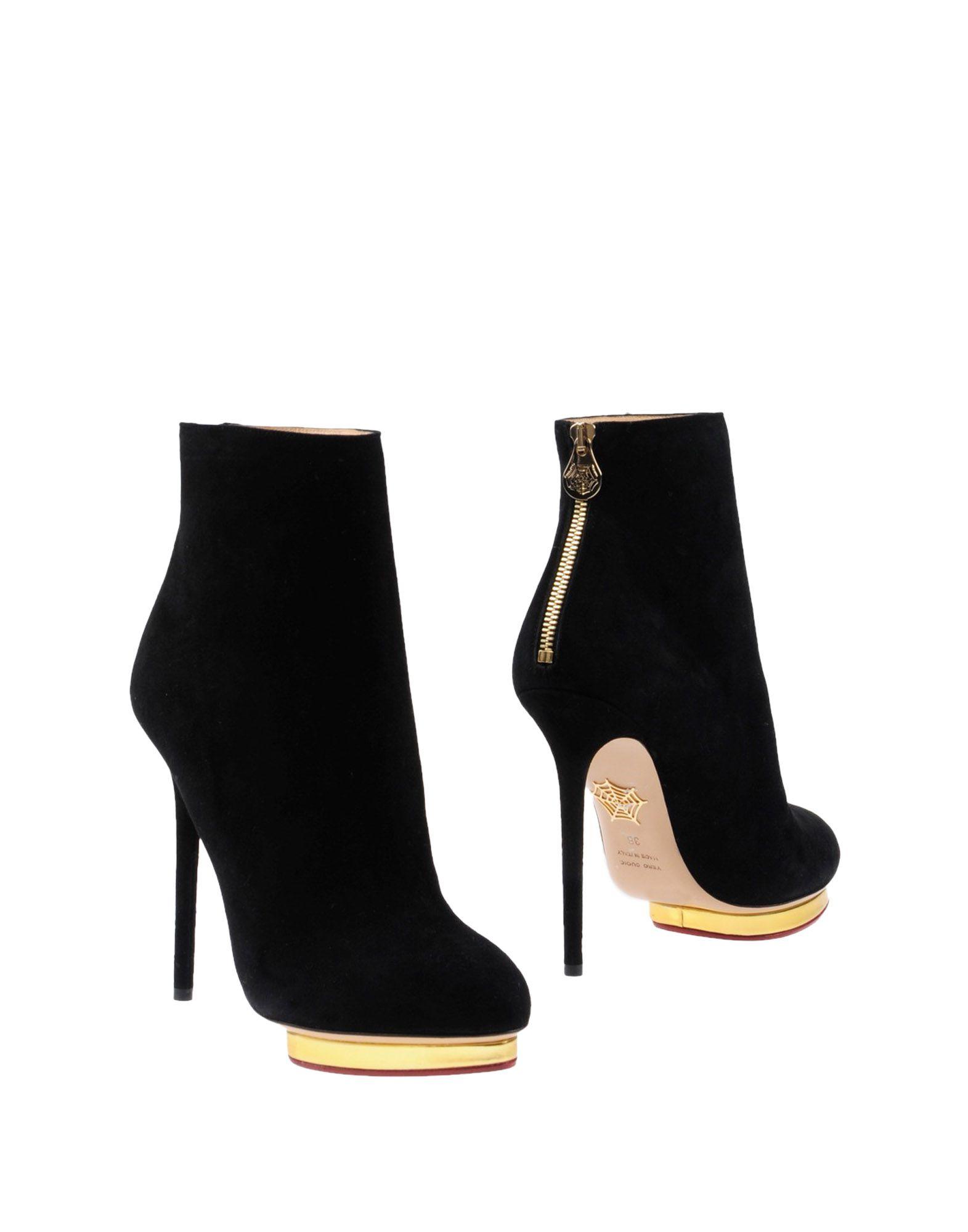 Charlotte Olympia Stiefelette Damen  11434201DAGünstige gut aussehende Schuhe