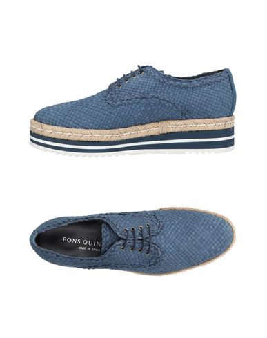 Zapatos de hombre y mujer de promoción por tiempo limitado Zapato De Cordones Pons Quintana Mujer - Zapatos De Cordones Pons Quintana - 11434251KX Azul francés