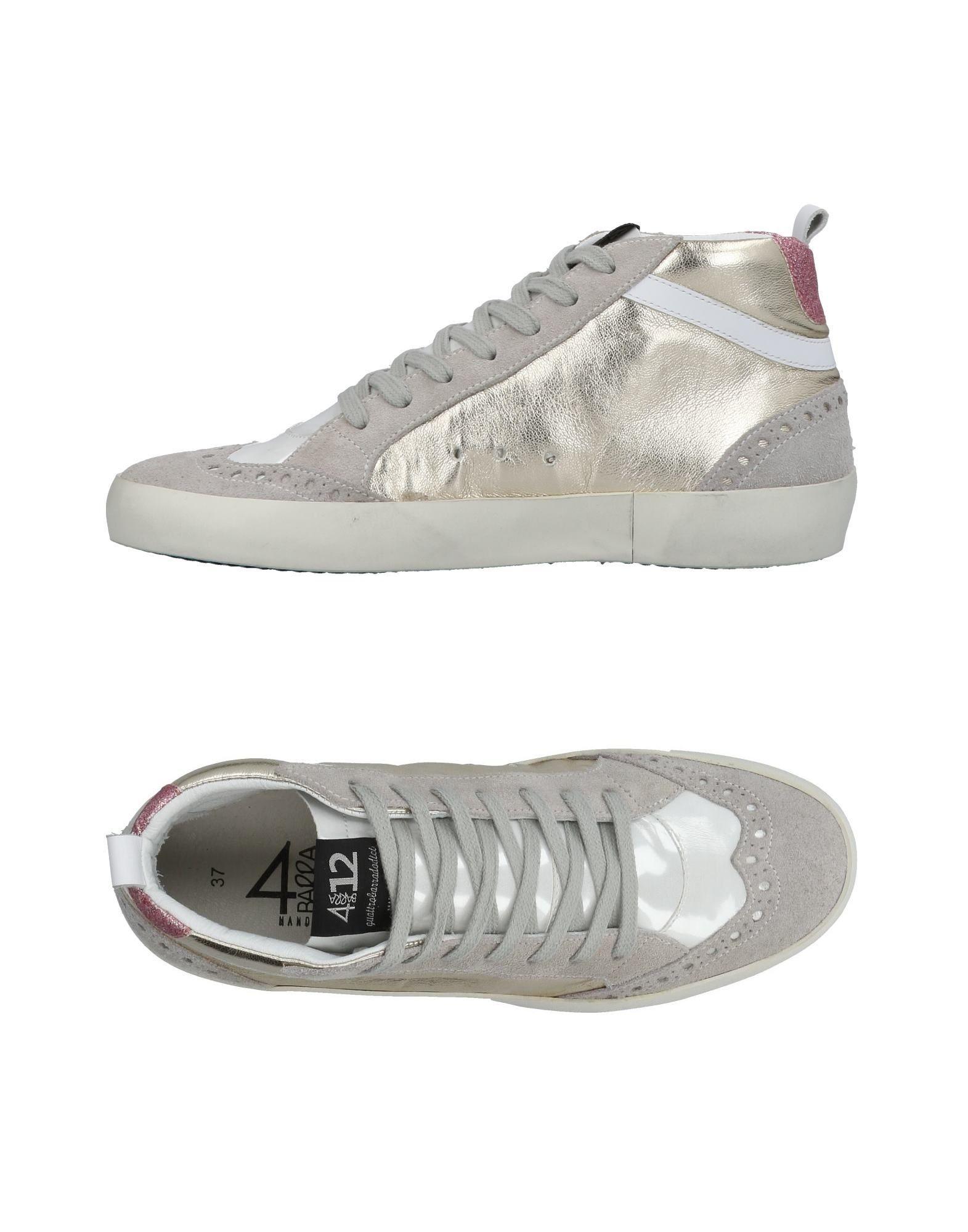 Quattrobarradodici Sneakers Sneakers Quattrobarradodici Damen  11434307GX Gute Qualität beliebte Schuhe 17b5a7