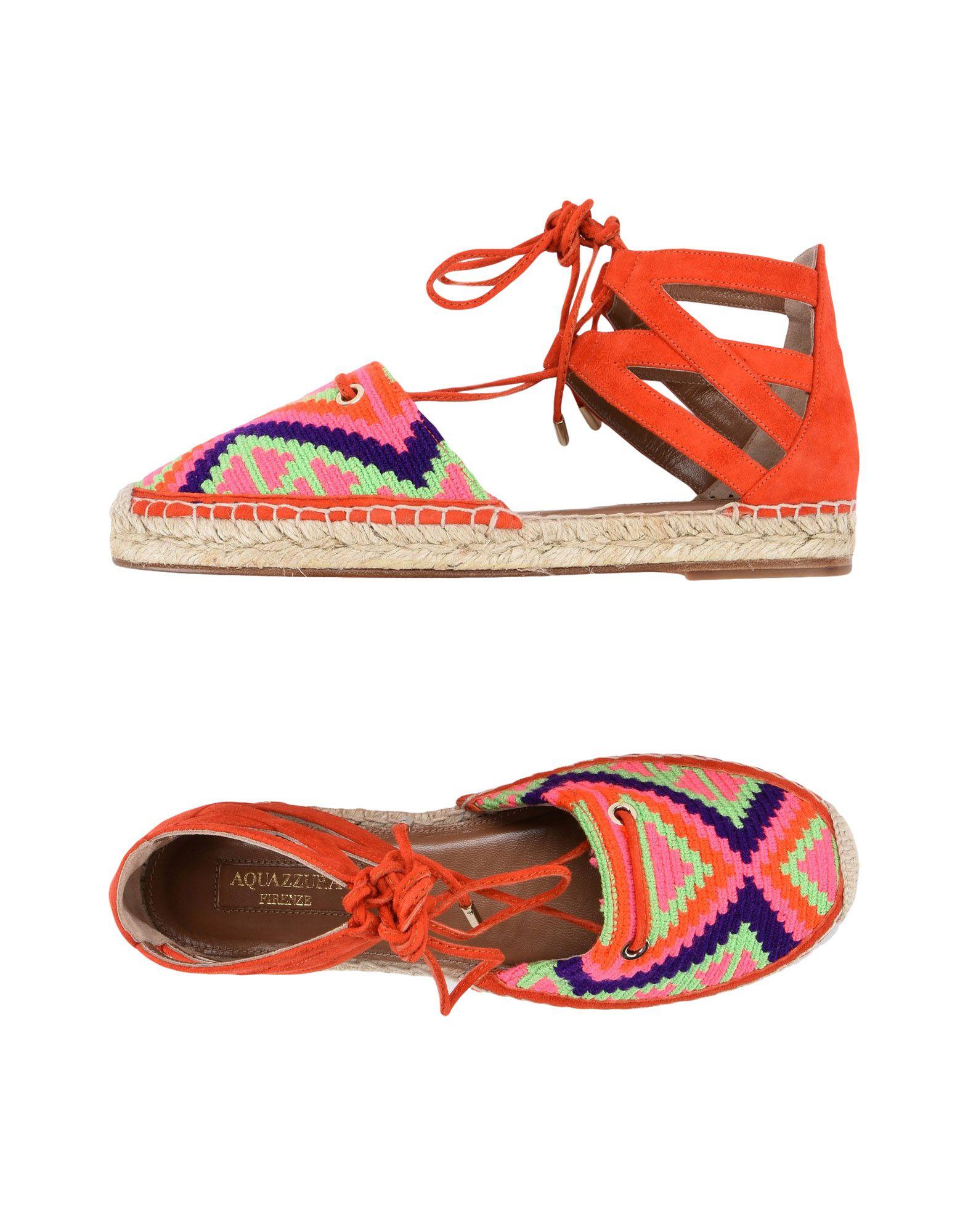 Aquazzura Espadrilles Damen  11434976KUGut aussehende strapazierfähige Schuhe