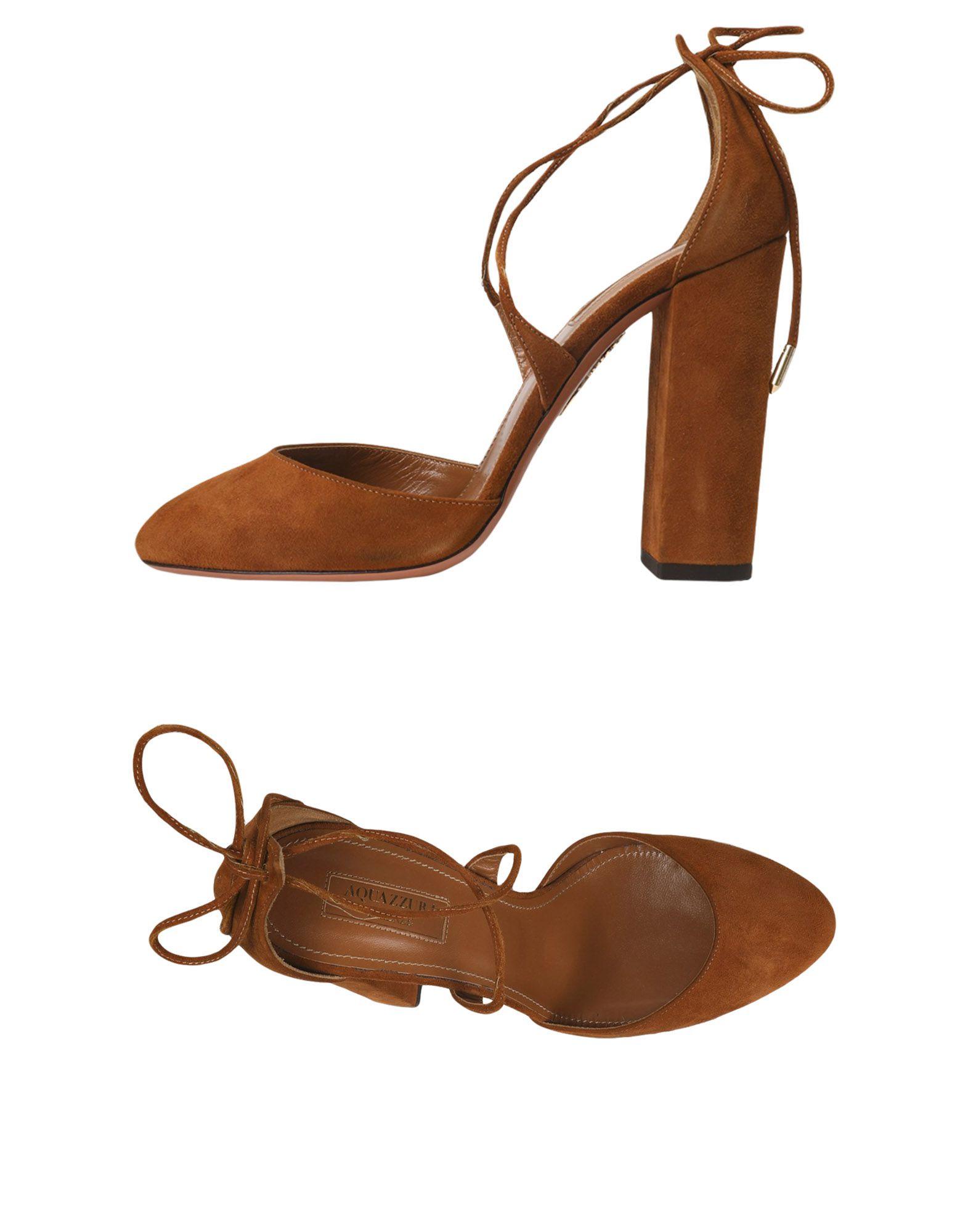 Escarpins Aquazzura Femme - Escarpins Aquazzura Marron Chaussures femme pas cher homme et femme
