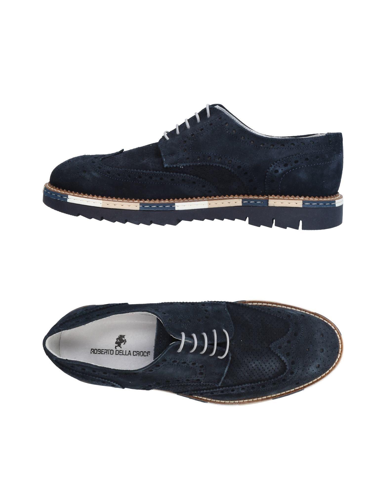 Rabatt echte Schuhe Roberto Della Croce Schnürschuhe Herren  11435021OK