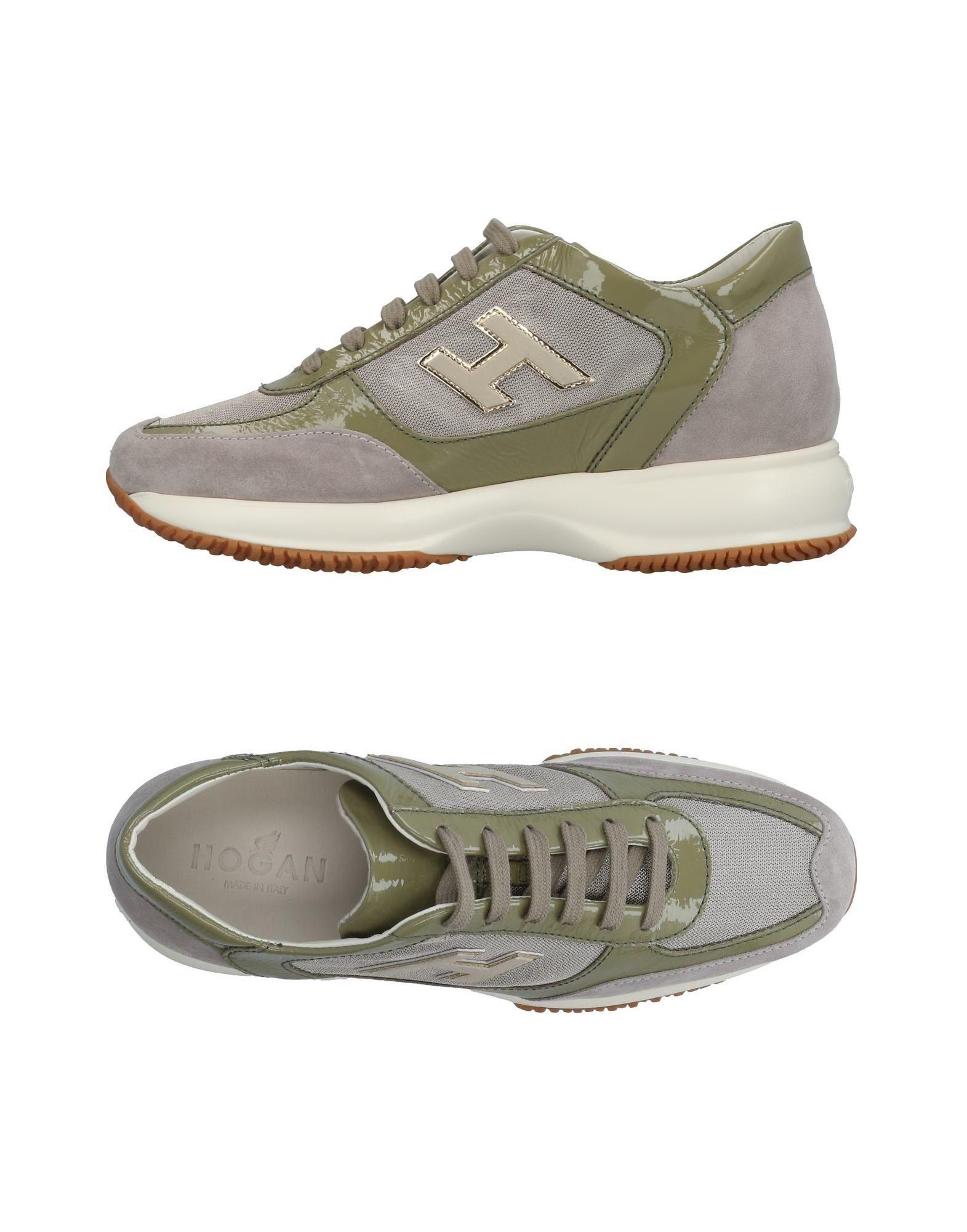 Zapatos Mujer casuales salvajes Zapatillas Hogan Mujer Zapatos - Zapatillas Hogan  Verde claro d10b5b