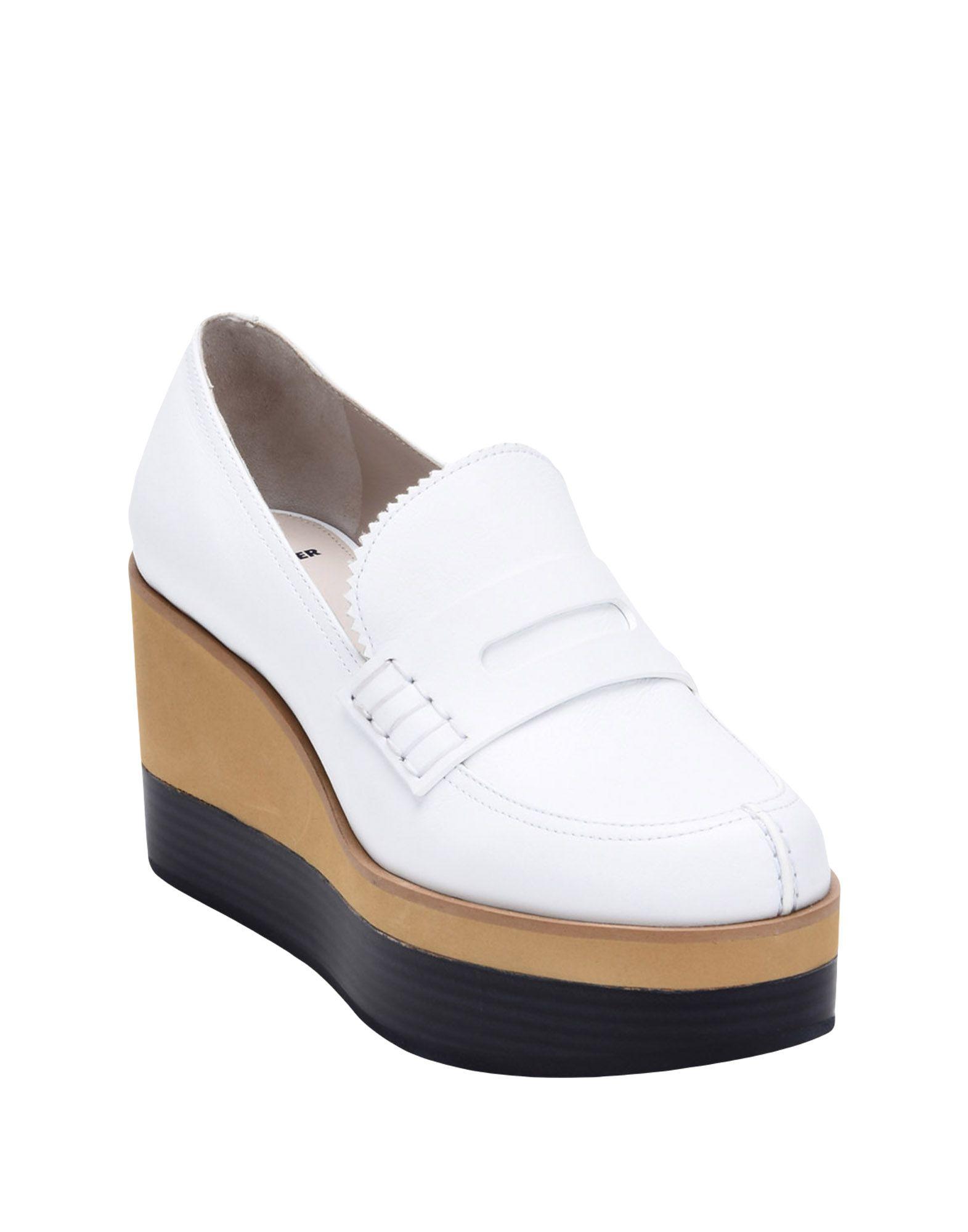 Stilvolle billige Schuhe Jil Sander Navy Mokassins Damen  11435377SS