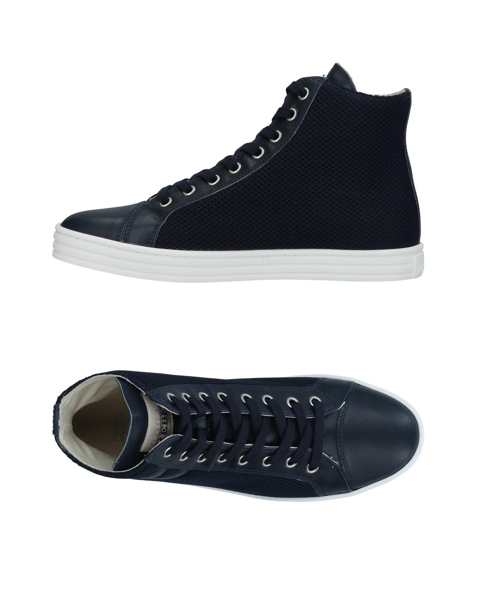 Zapatos Zapatillas casuales salvajes Zapatillas Hogan Rebel Mujer - Zapatillas Zapatos Hogan Rebel  Azul oscuro f18b73